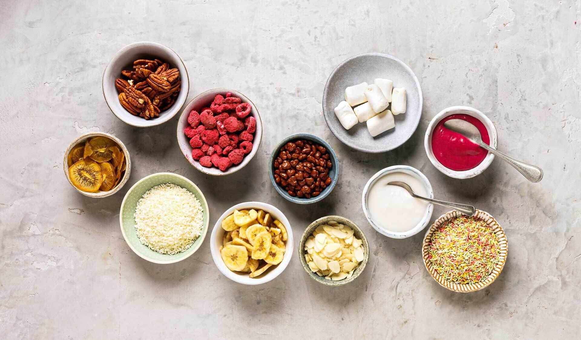 Zutaten für Rezepte (© Fotos, Rezepte Sabrina Sue Daniels)