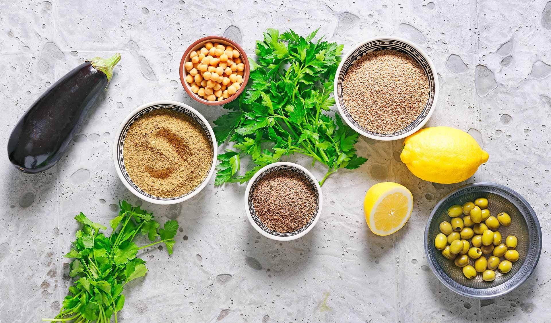 Die Küche der Levante (© Fotos und Rezepte: Sabrina Sue Daniels und Lena Merz)