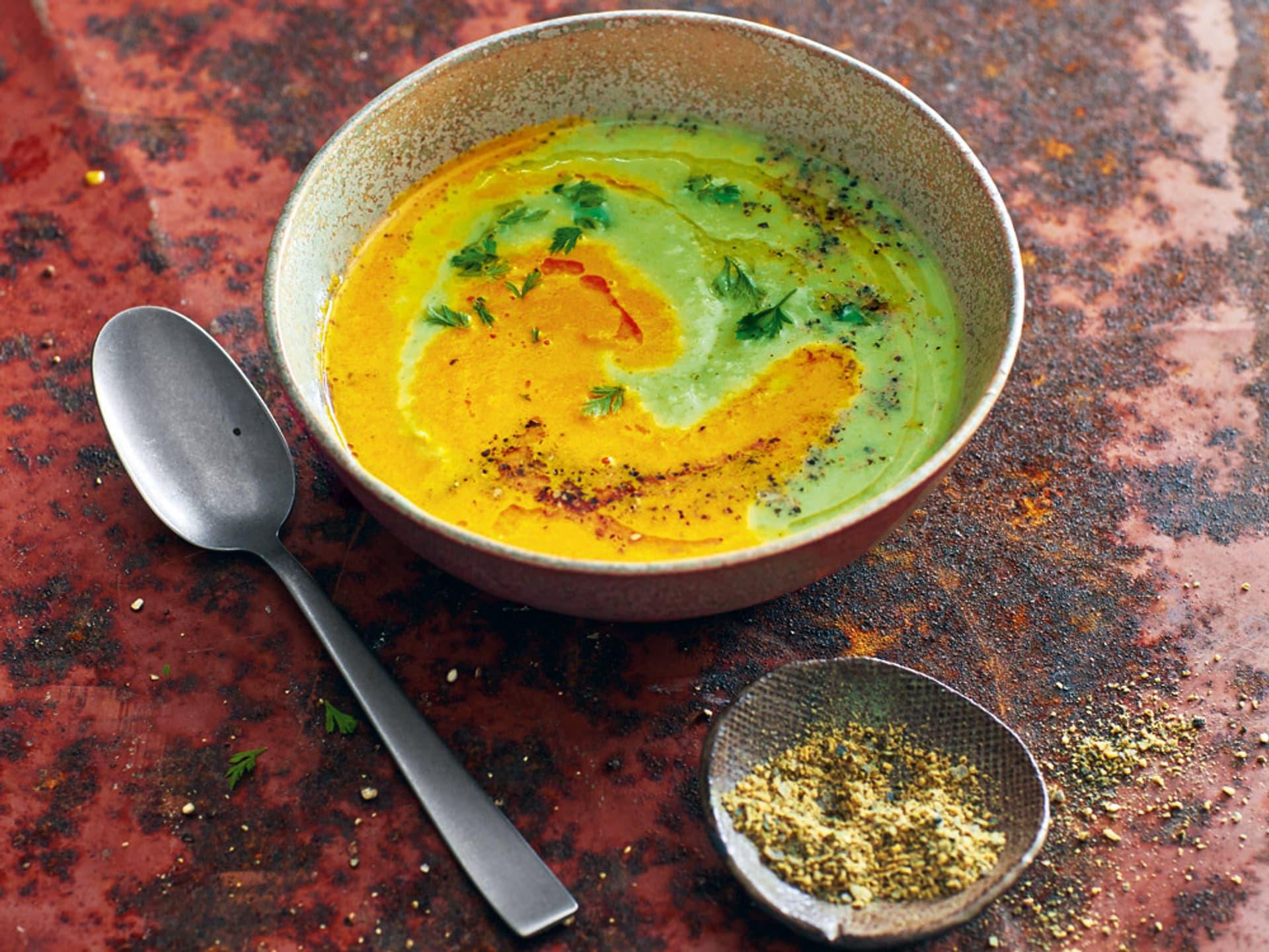 Rosenkohl-Karotten-Suppe