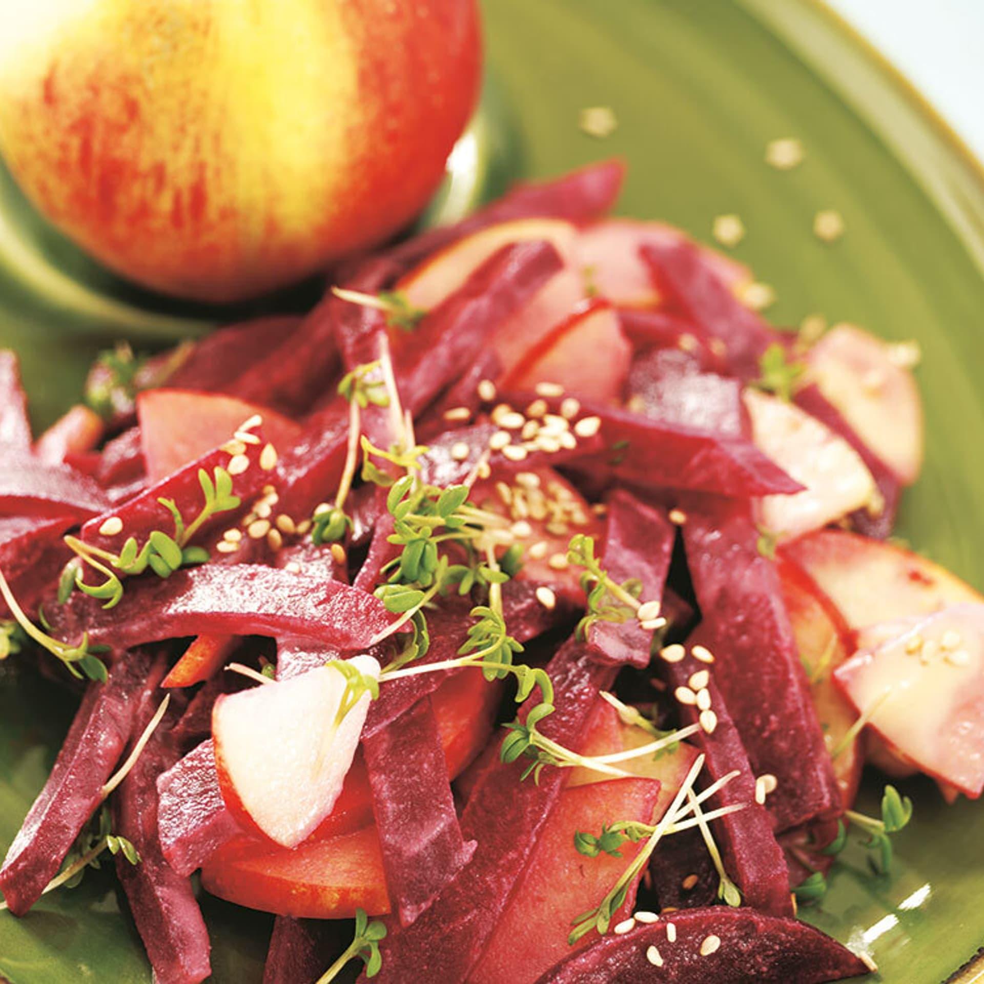 Rote-Bete-Salat mit Sesam
