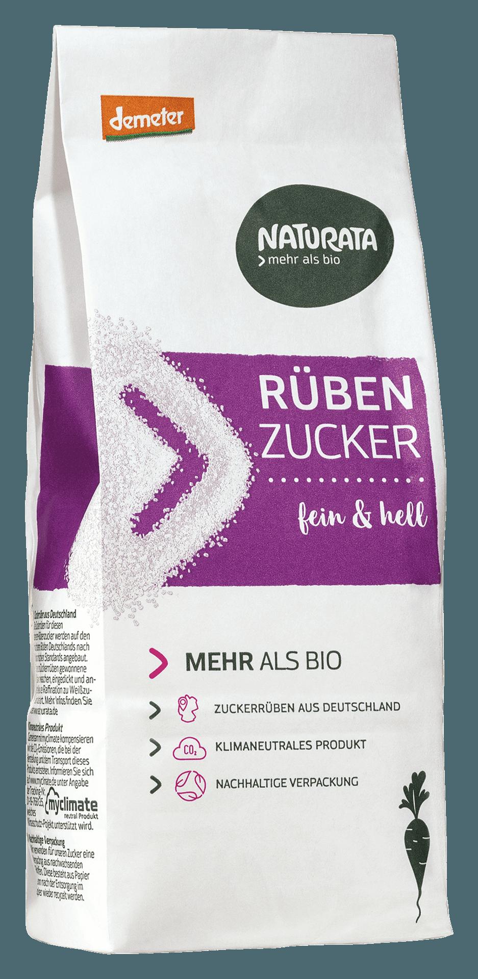 Paperverpackung mit Zucker