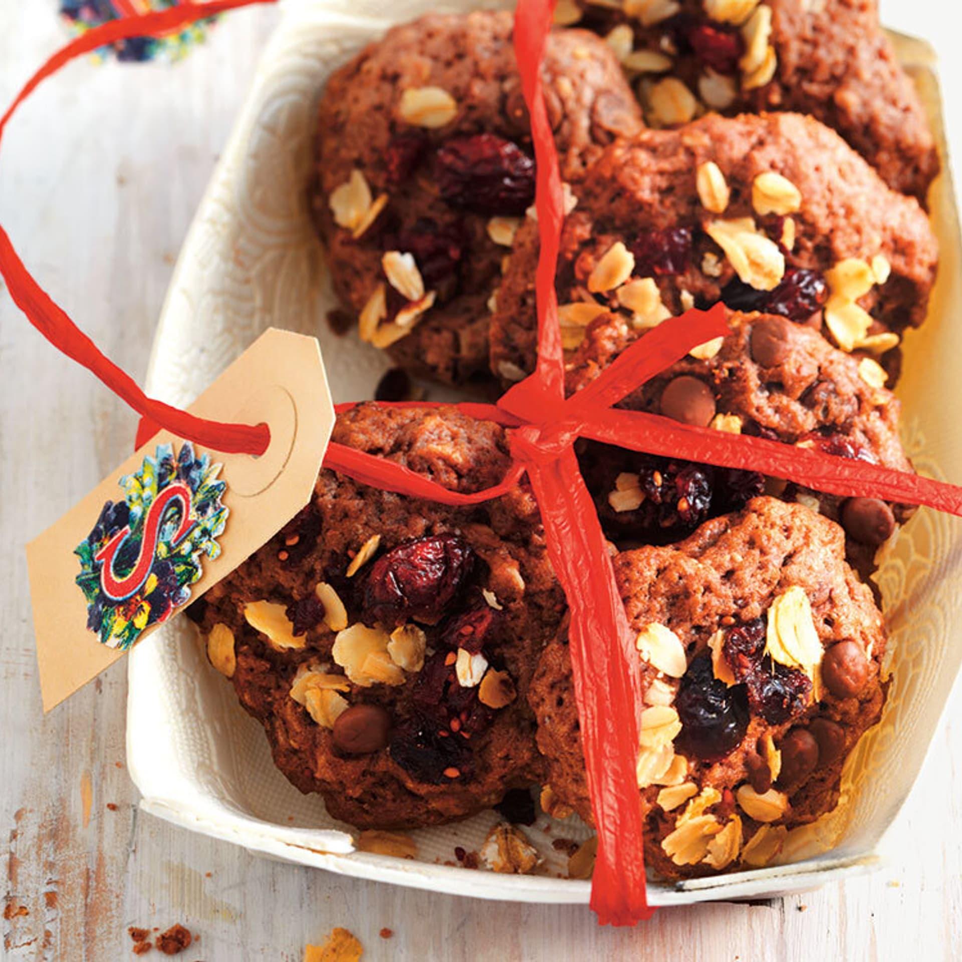 Schokoladen-Haferflocken-Kekse
