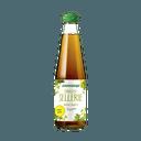 Flasche mit grün-gelbem Inhalt
