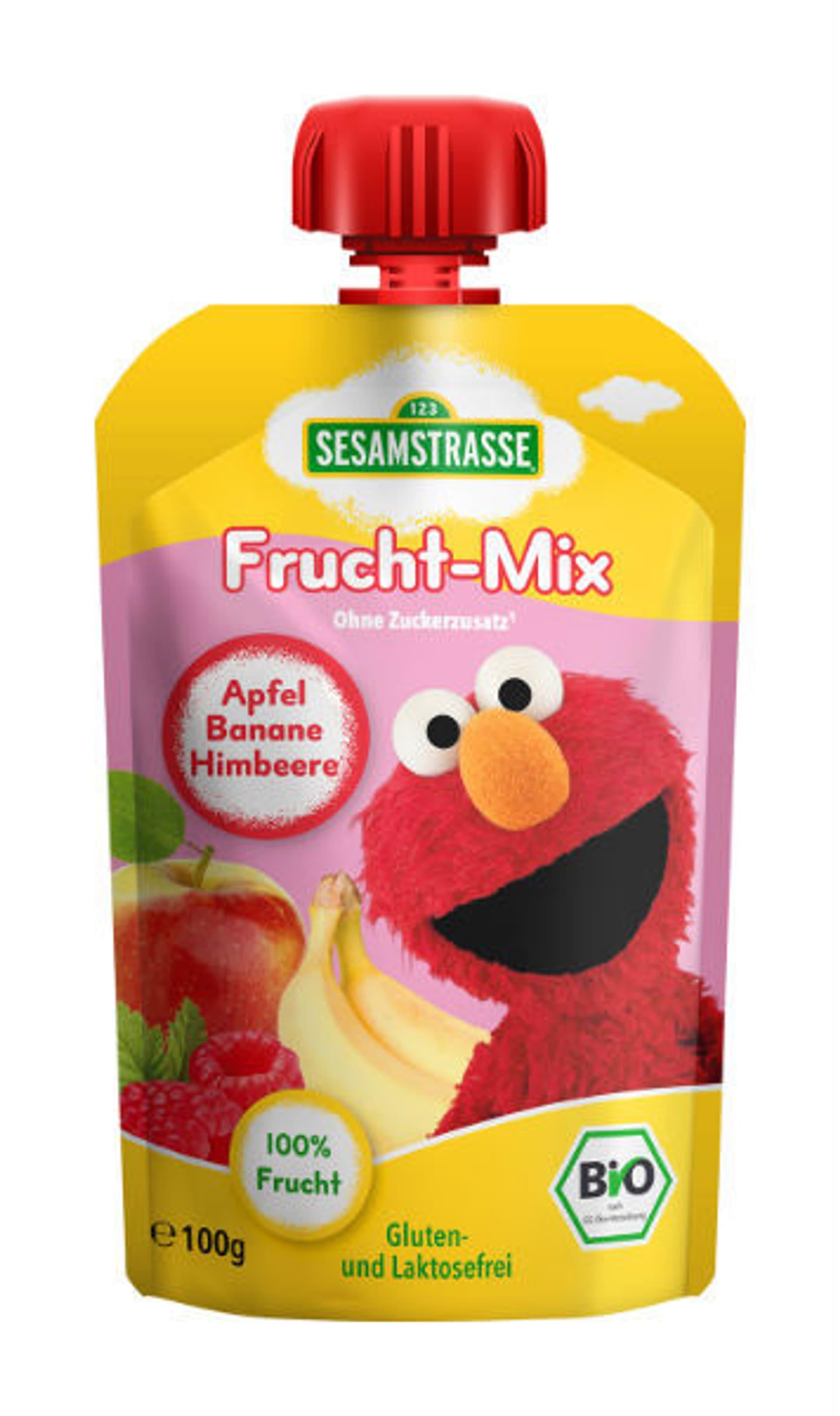 Sesamstrasse Quetsch Pack Frucht Mix