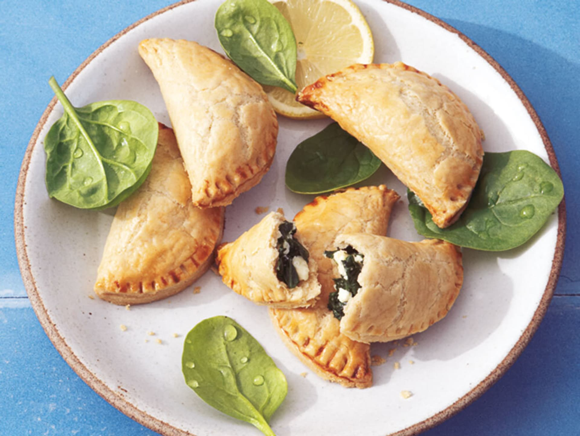 Spinat empanadillas