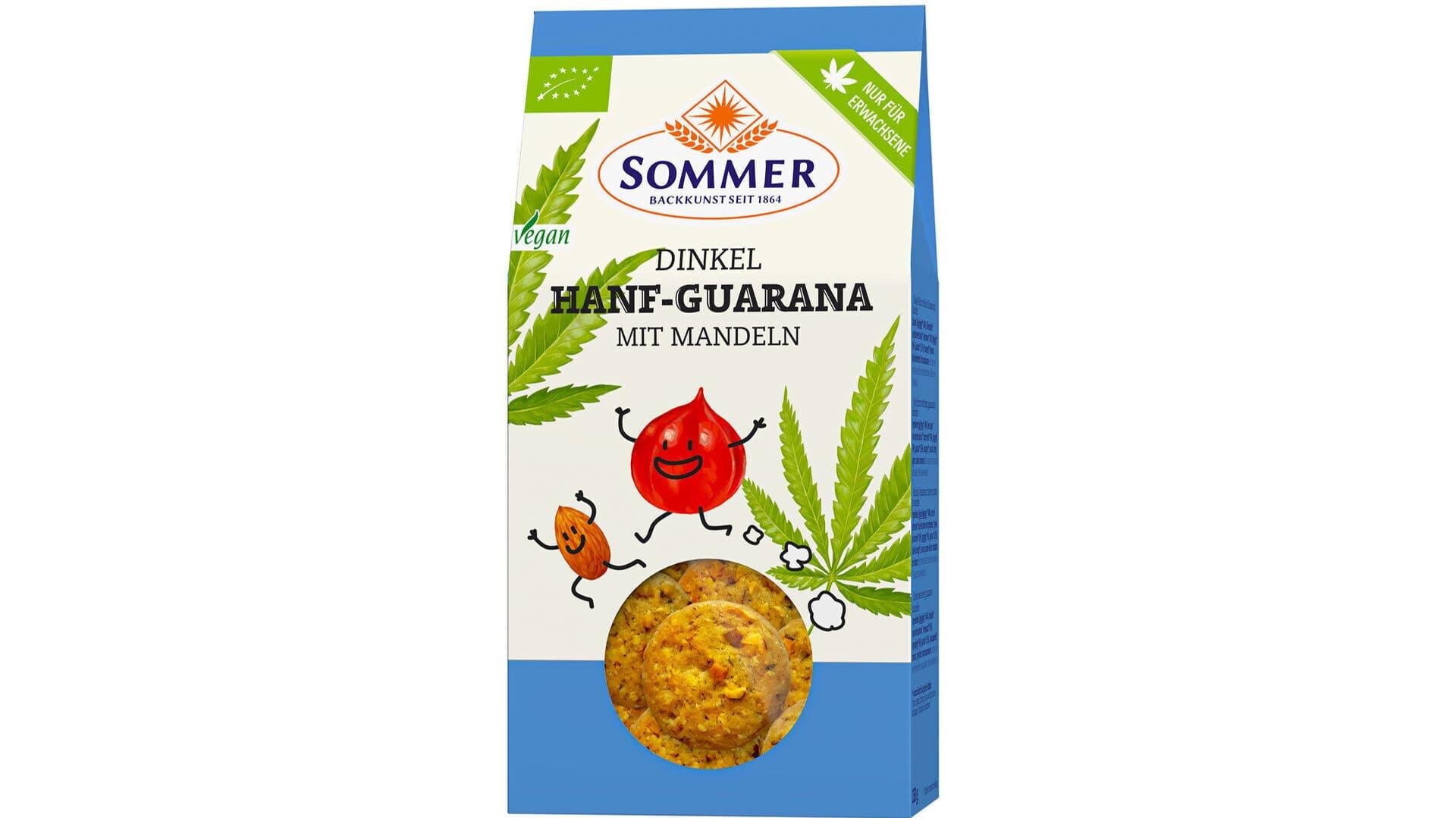 Sommer Kekse Hanf-Guarana