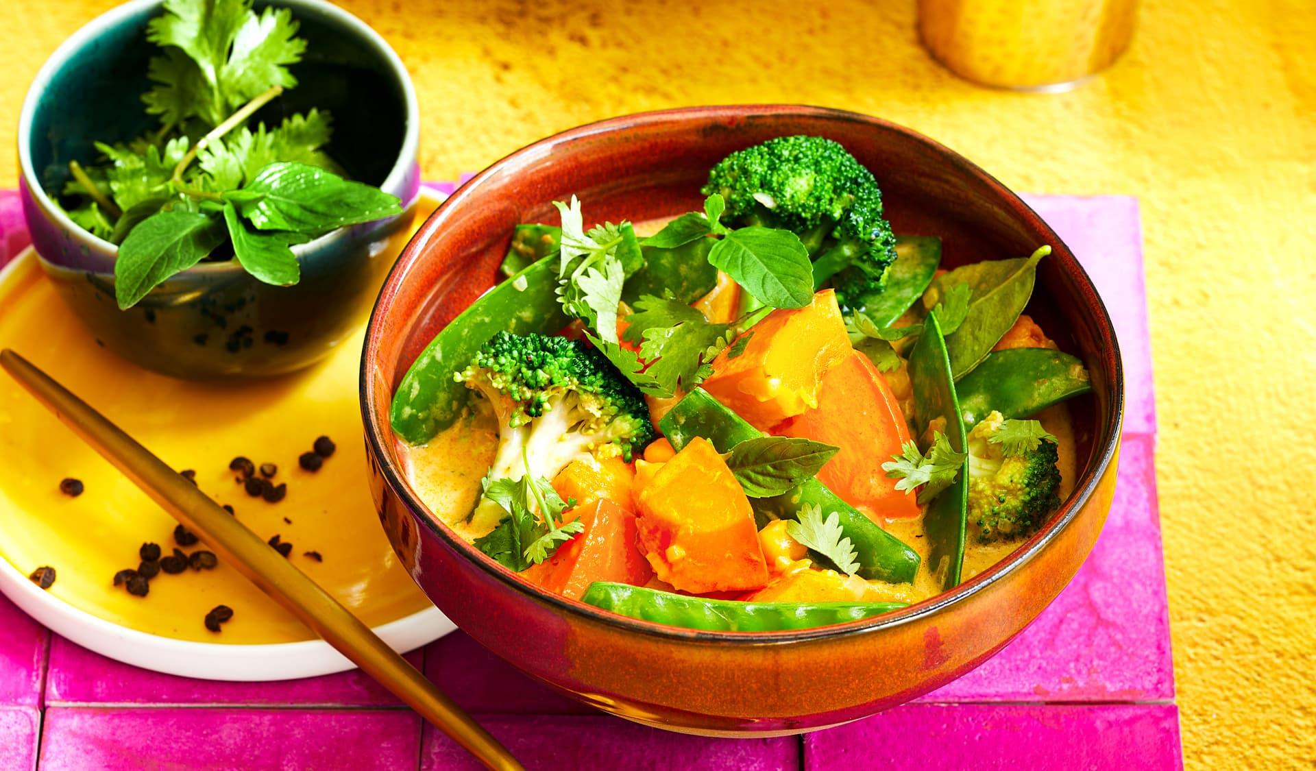 Curry mit Kürbis