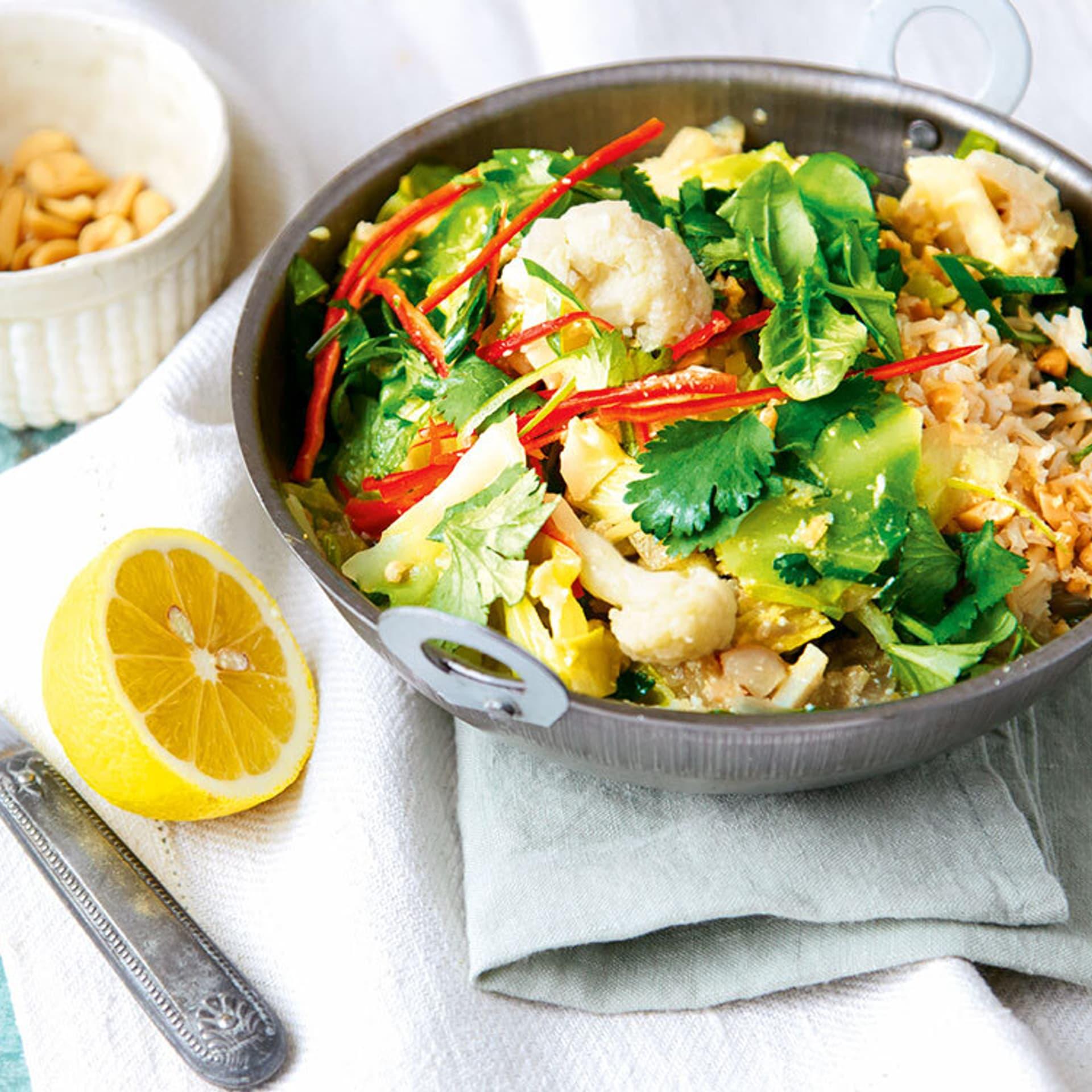 Thailändisches Gemüse-Curry