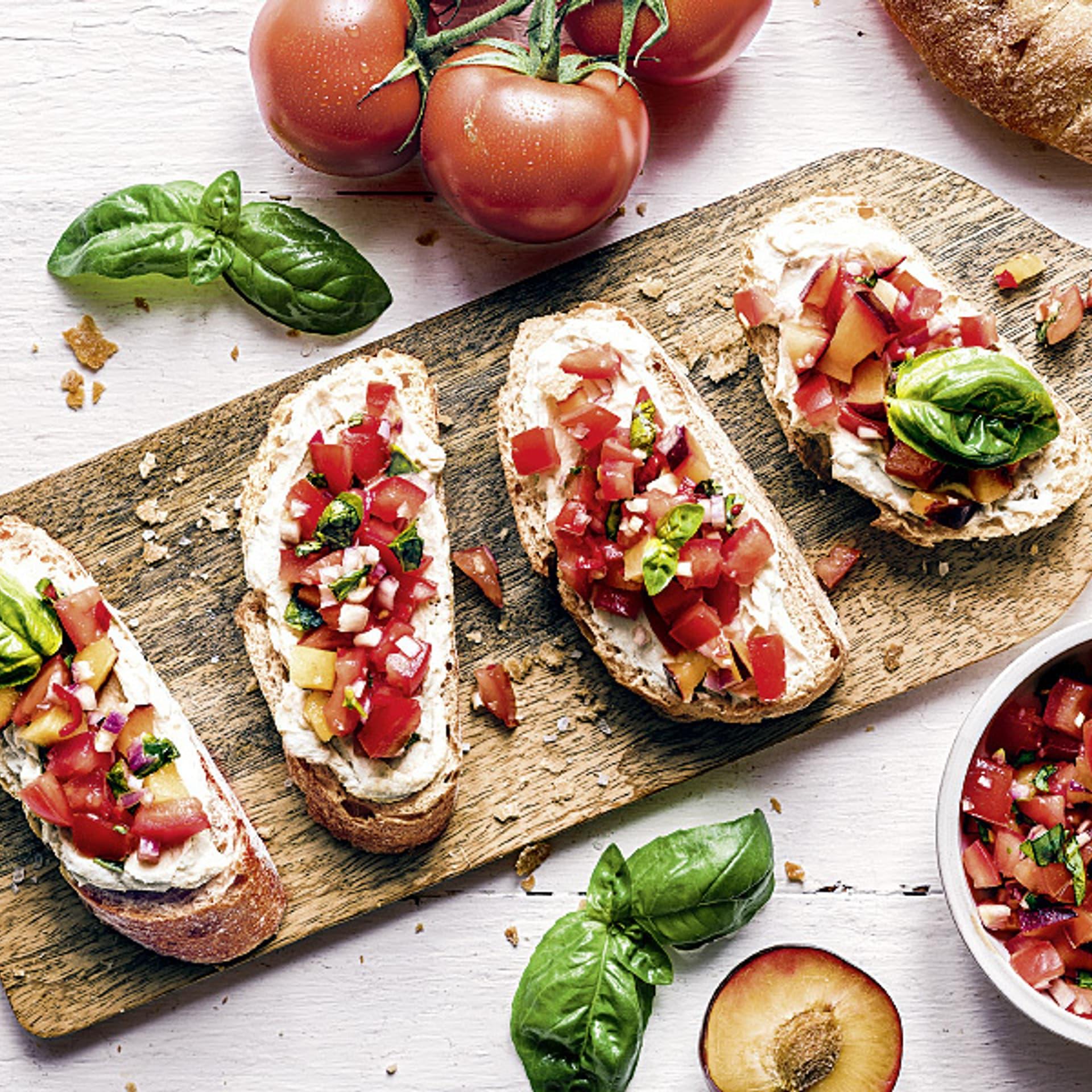 Tomaten-Pflaumen-Salsa