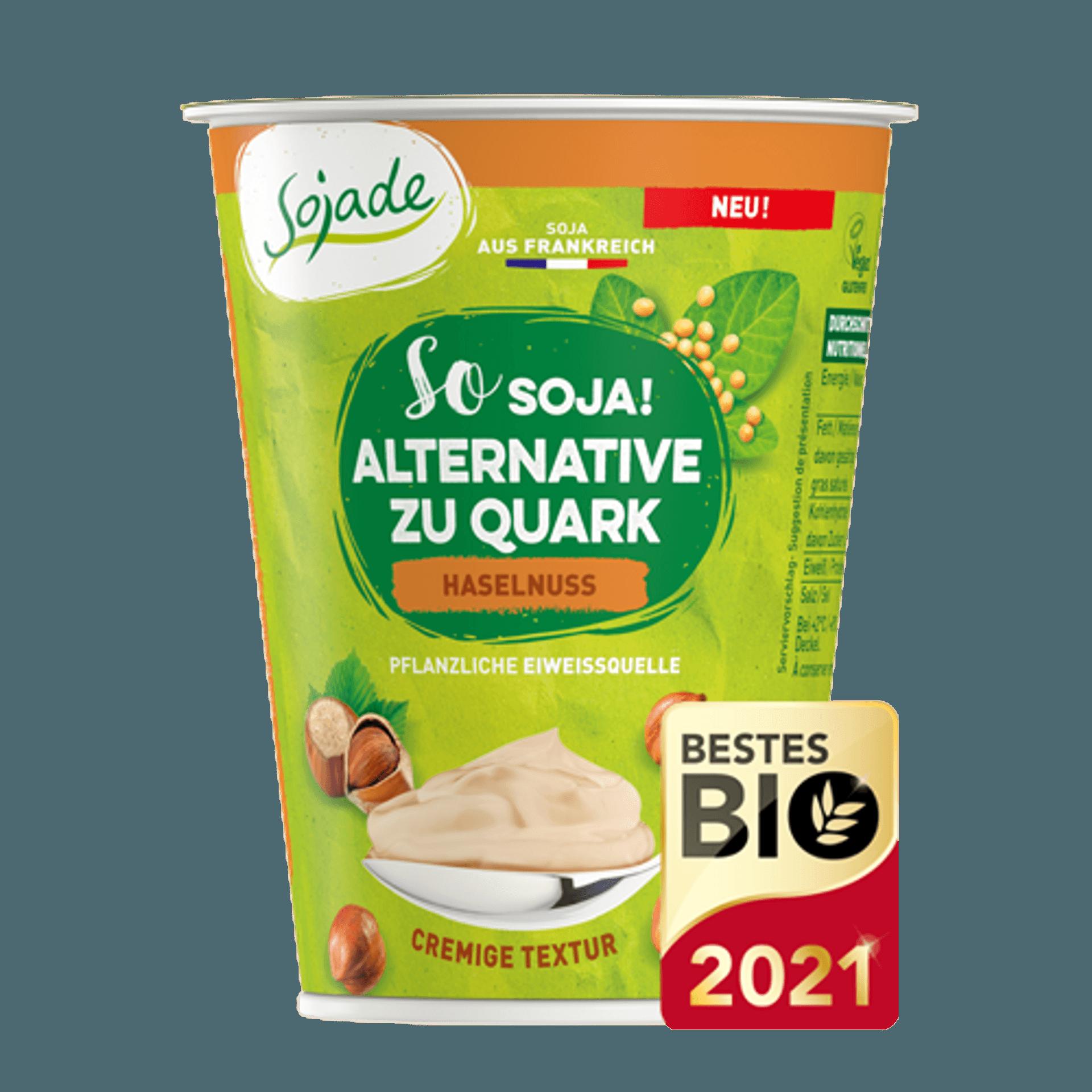 Ein Becher Quark-Alternative