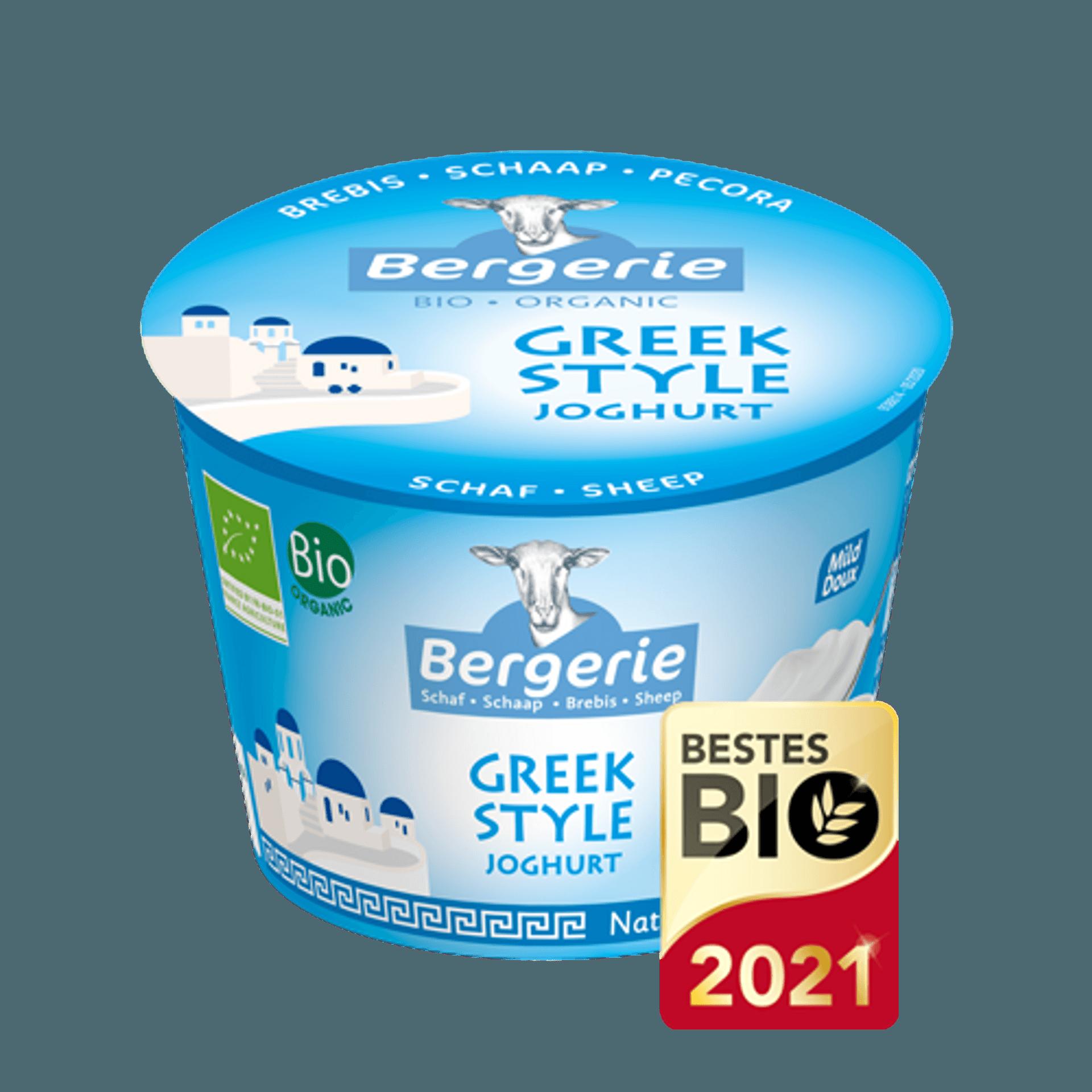 Ein Becher Joghurt