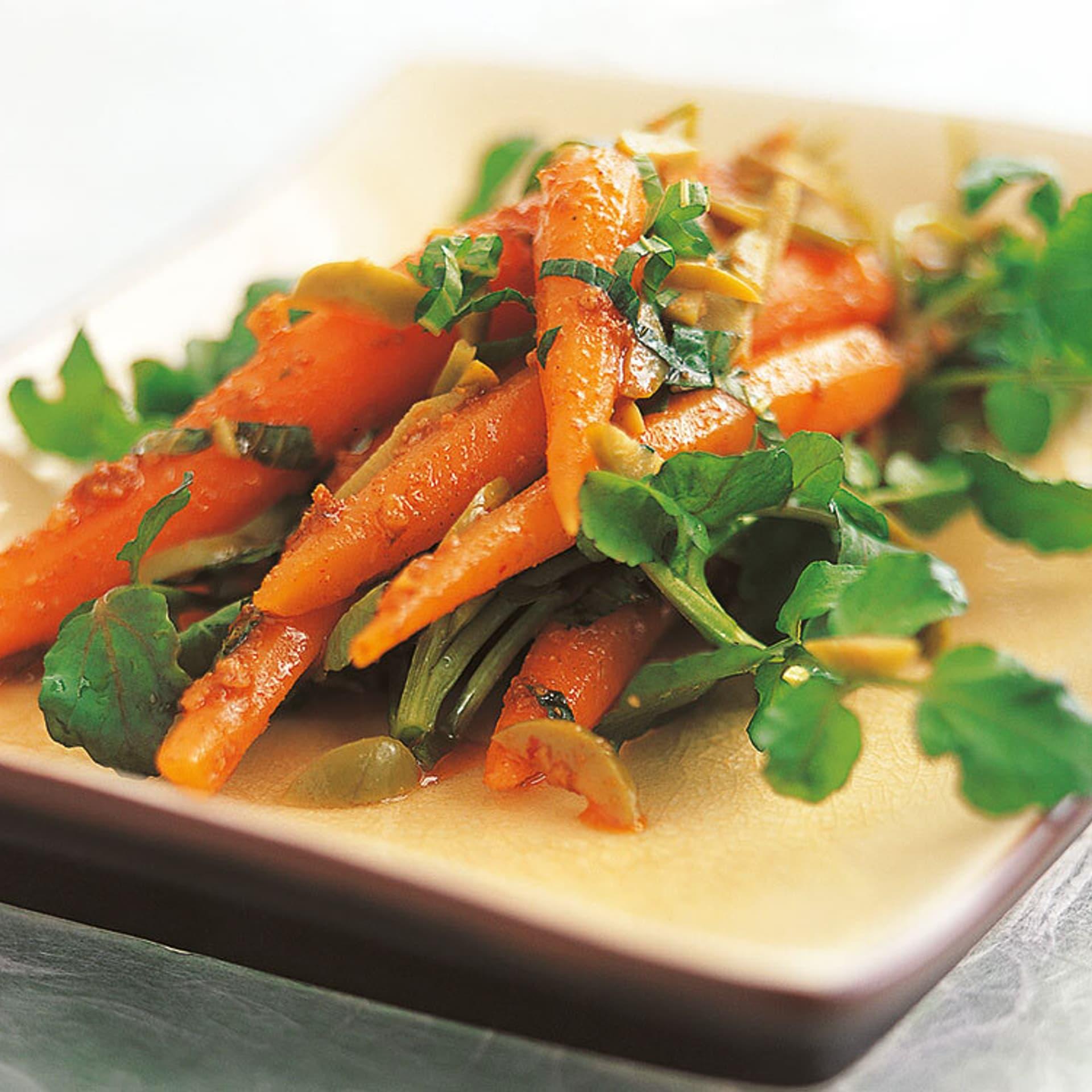 Vegane rezepte marokkanischer moehrensalat