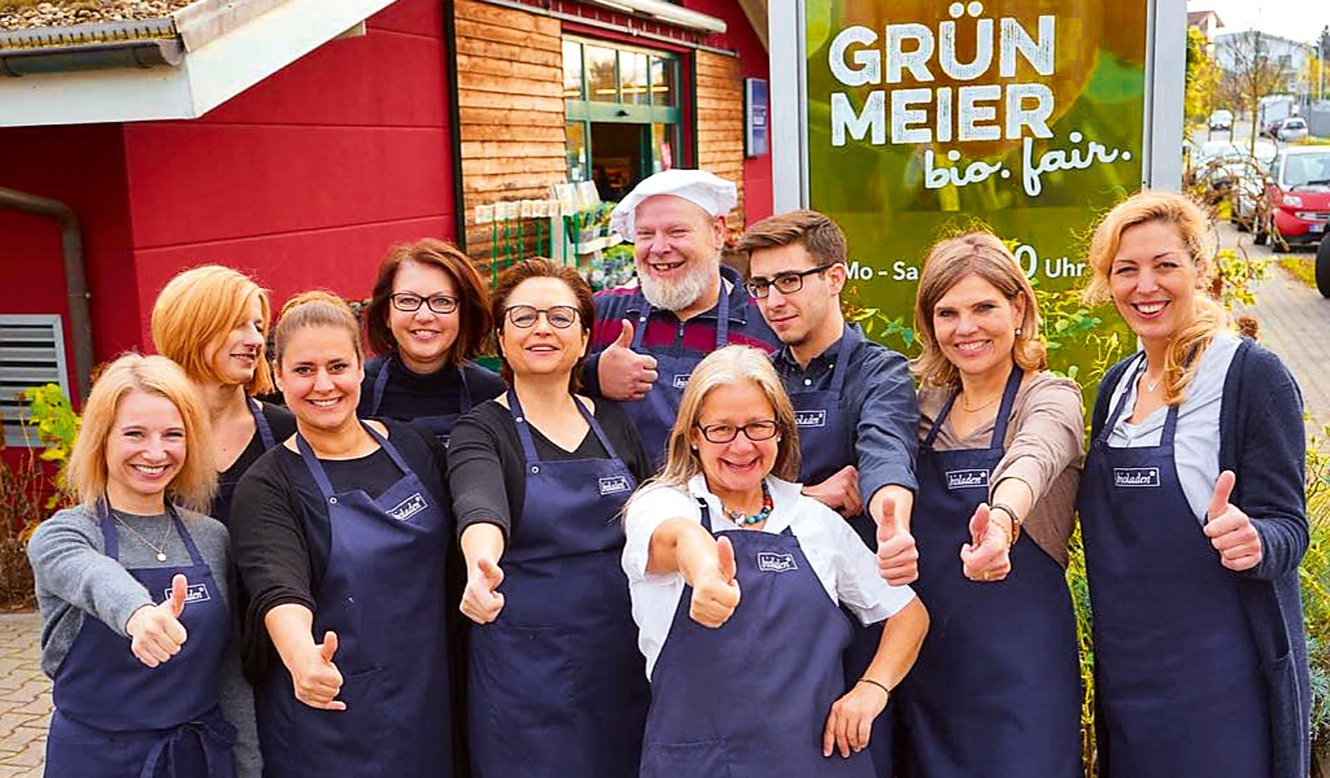 Team des Bioladens Grünmeier