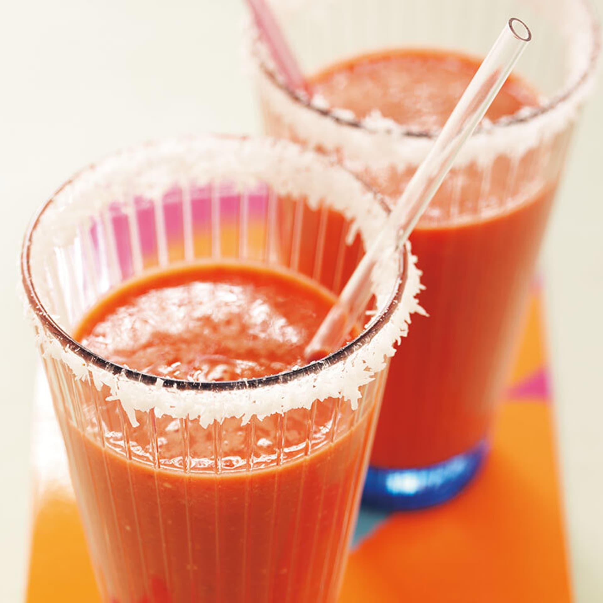 Vital drink mit moehren