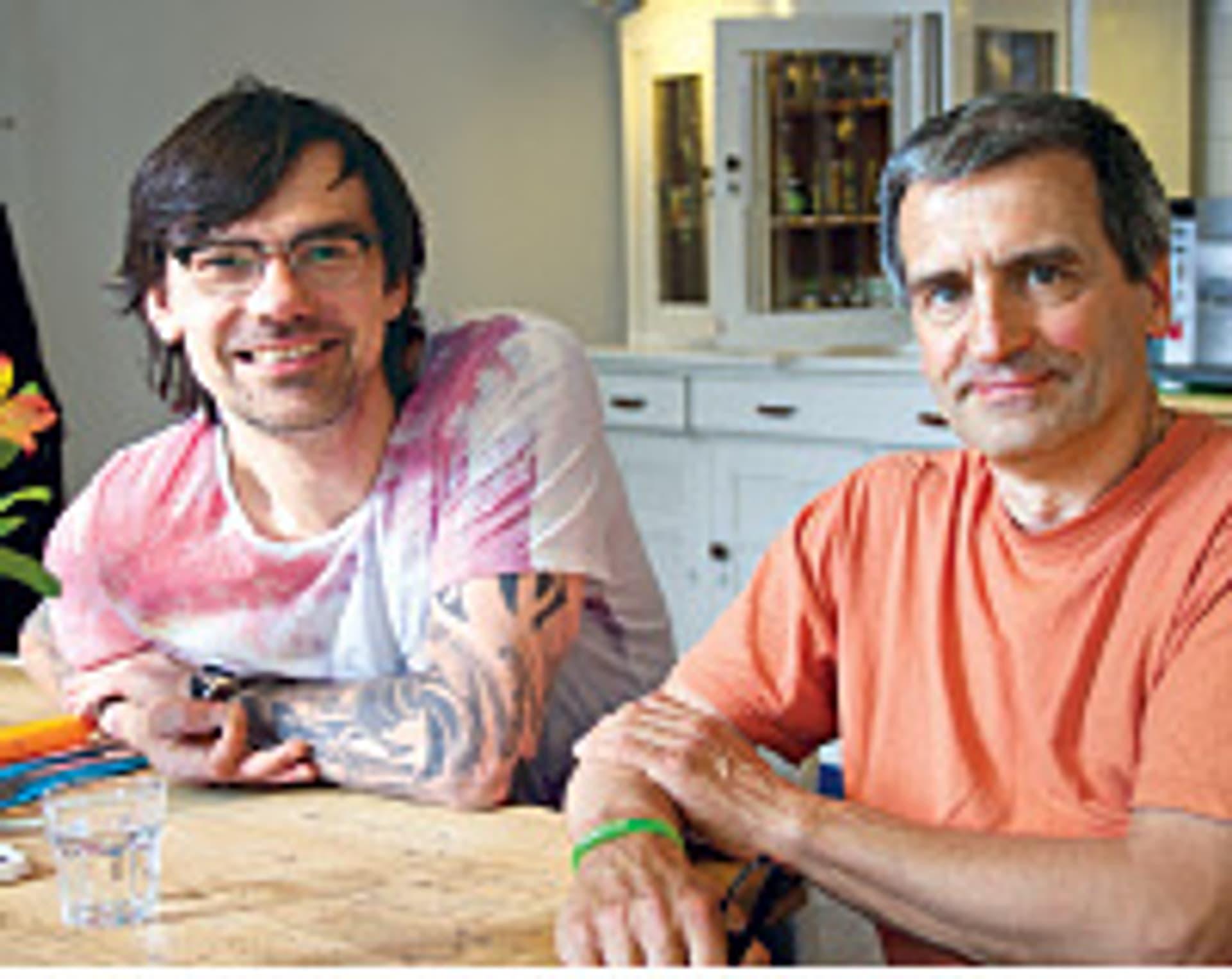 Volker Mehl und Manfred Loosen (Foto: Privat)