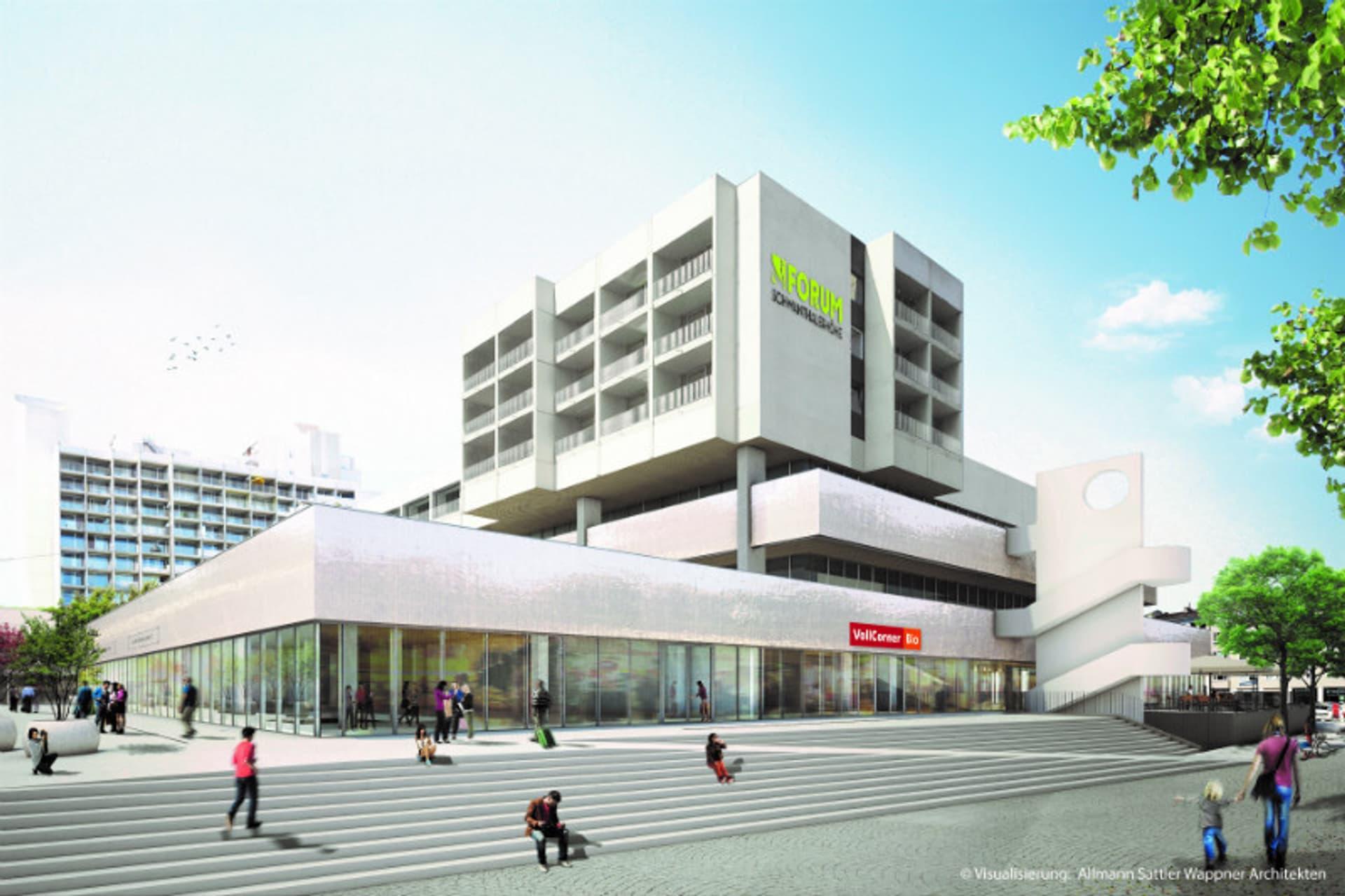 Voll Corner Flagship Store Schwanthalerhoehe Muenchen Visualisierung Foto Vollcorner