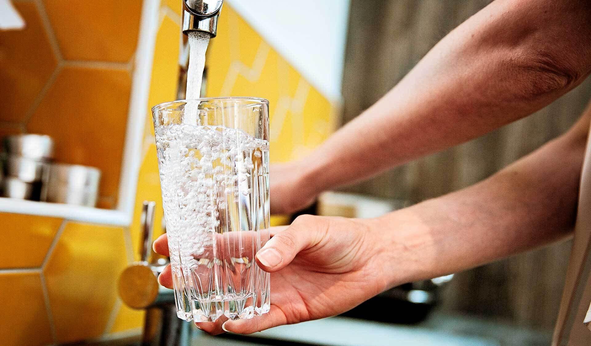 Noch fließt Trinkwasser aus dem Wasserhahn