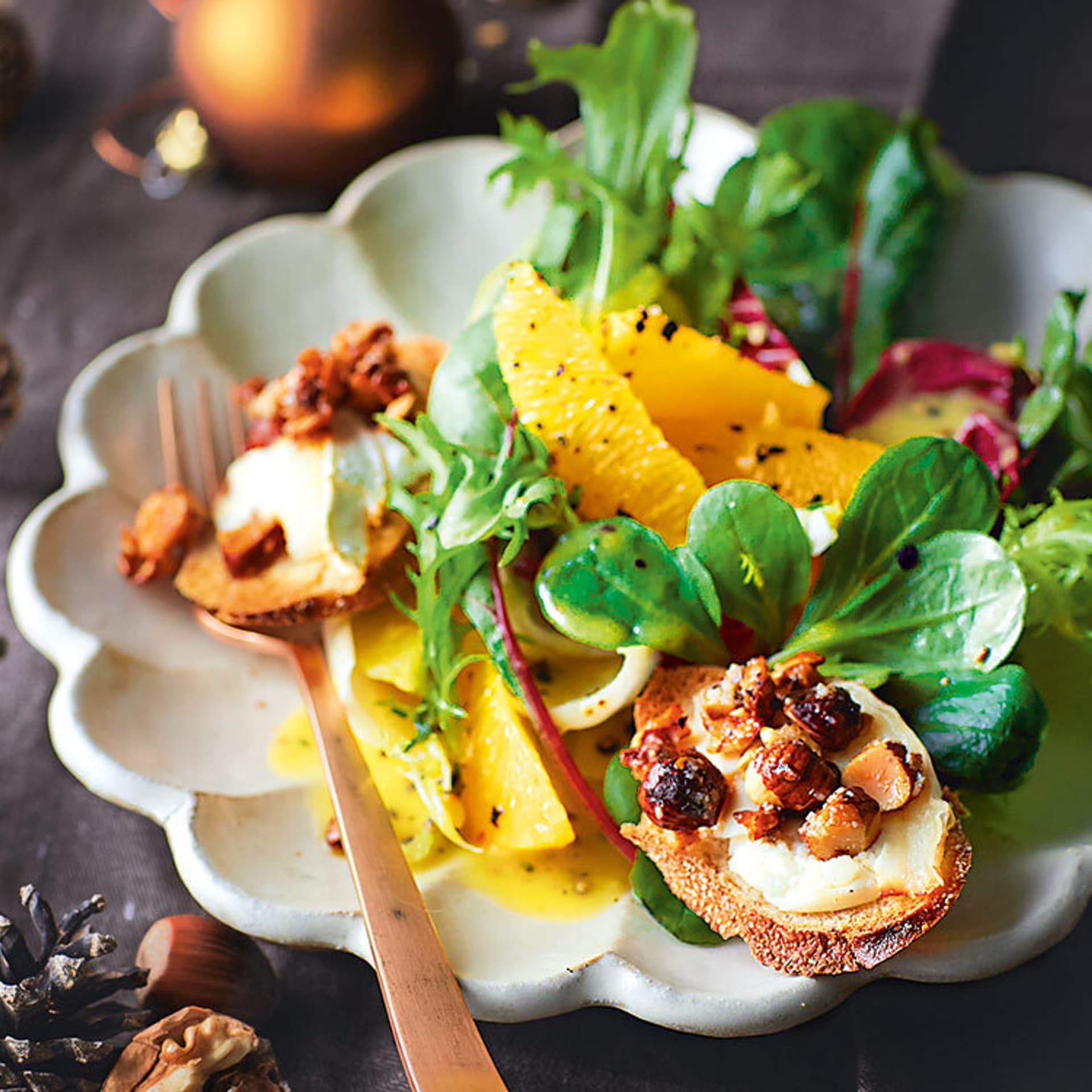 Wintersalat mit Orangen