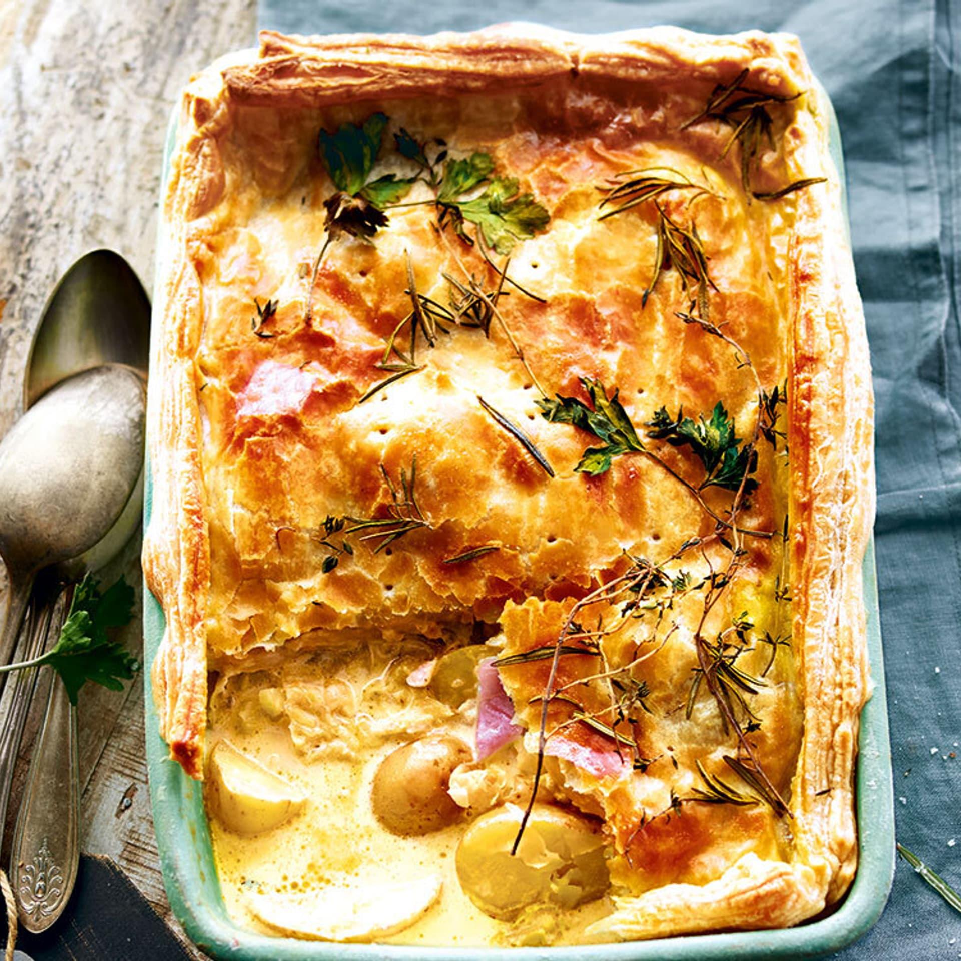 Wirsing-Kartoffel-Pie