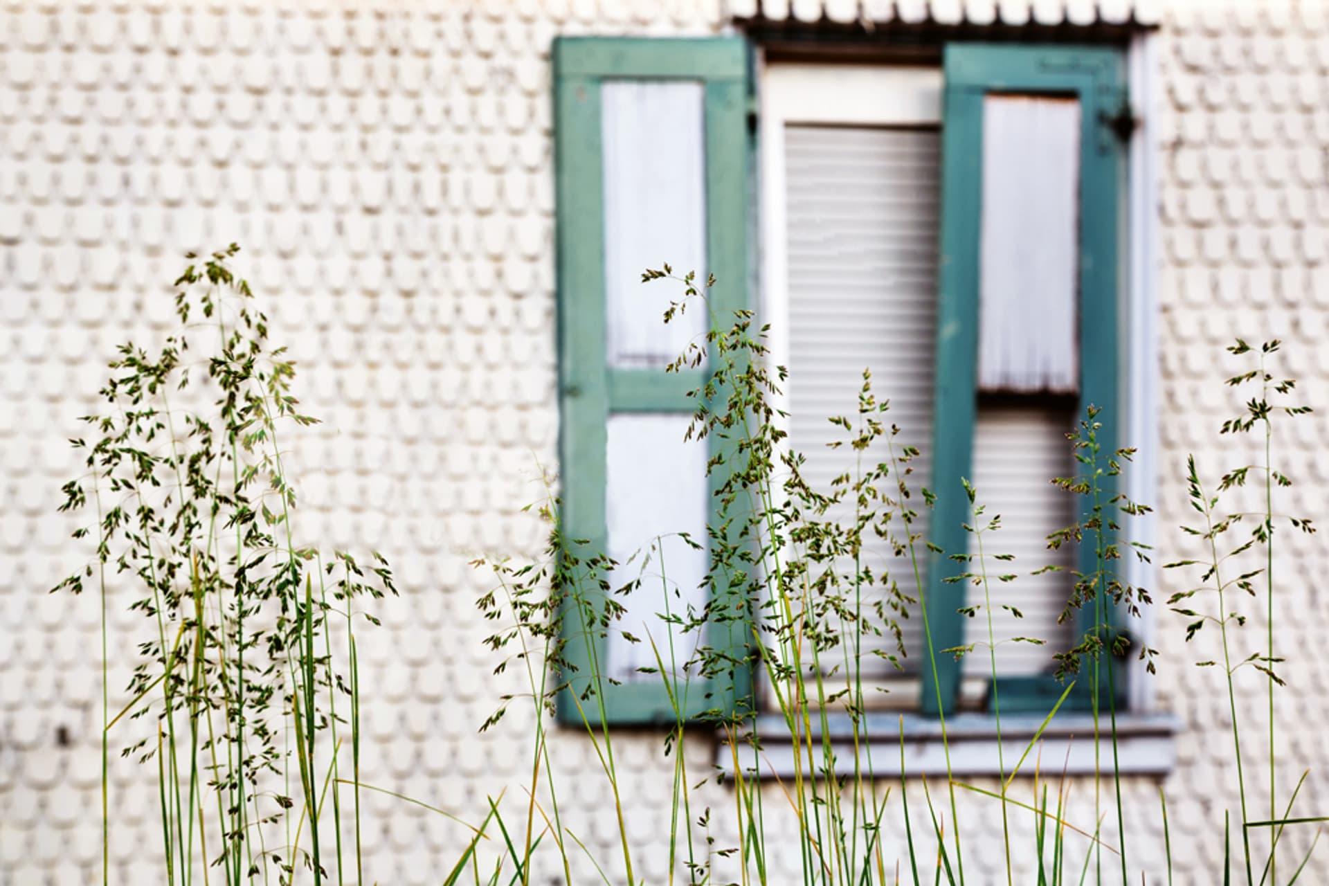 Fenster in einer Wand