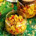 Zucchini-Chutney mit Ingwer