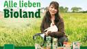 Plakat zur Bioland-Kampagne von Lidl