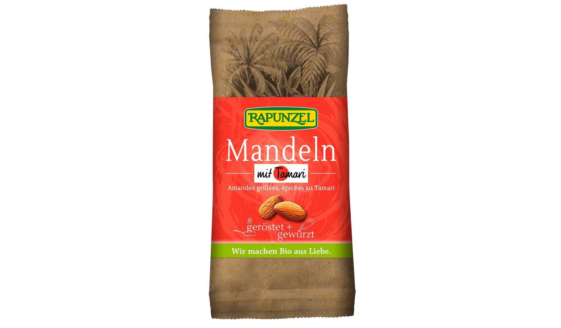 Rapunzel: Mandeln geröstet und gewürzt
