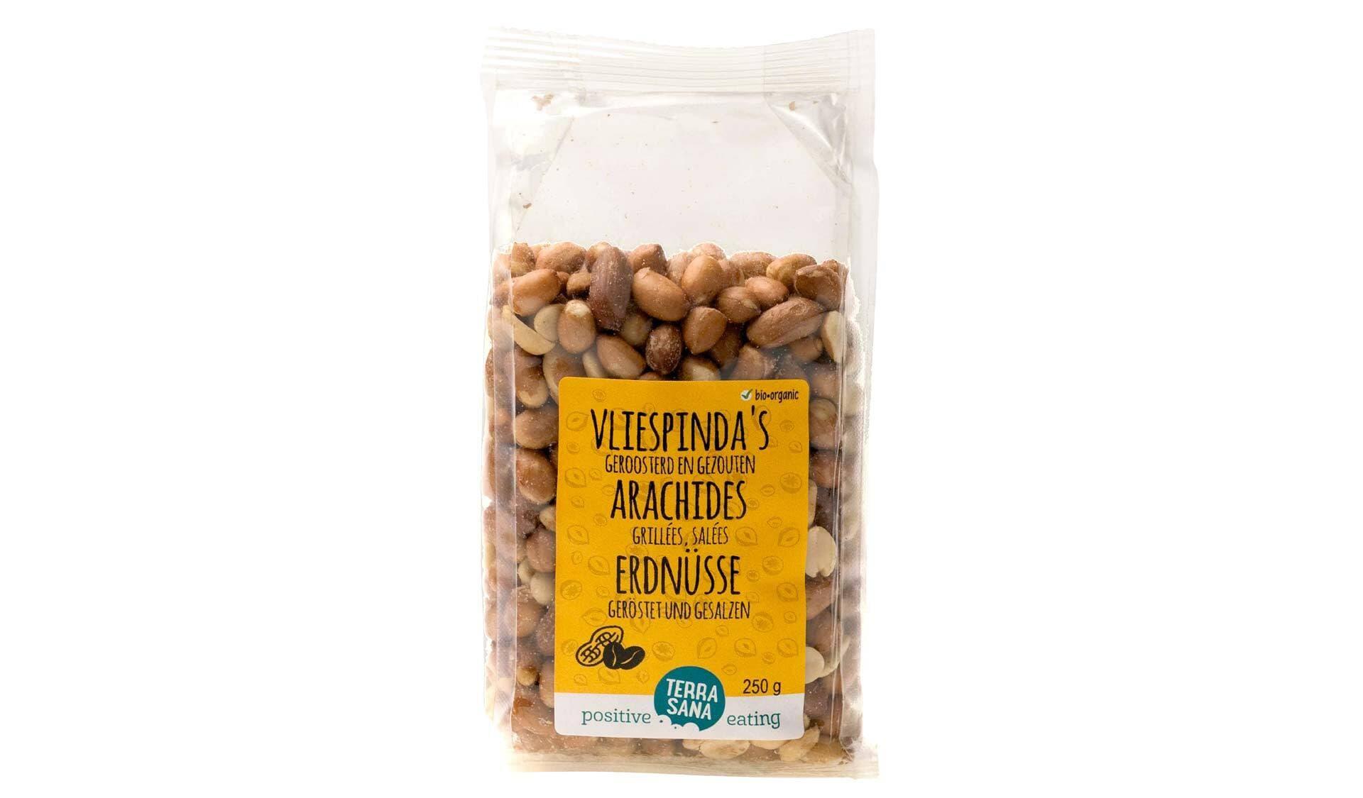 Terra Sana, Erdnüsse geröstet und gesalzen