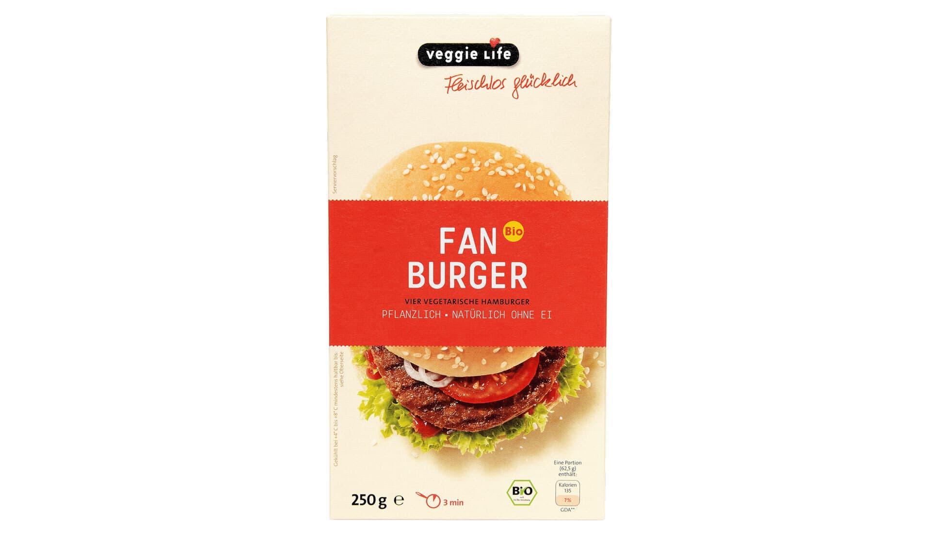 veggielife Fan Burger