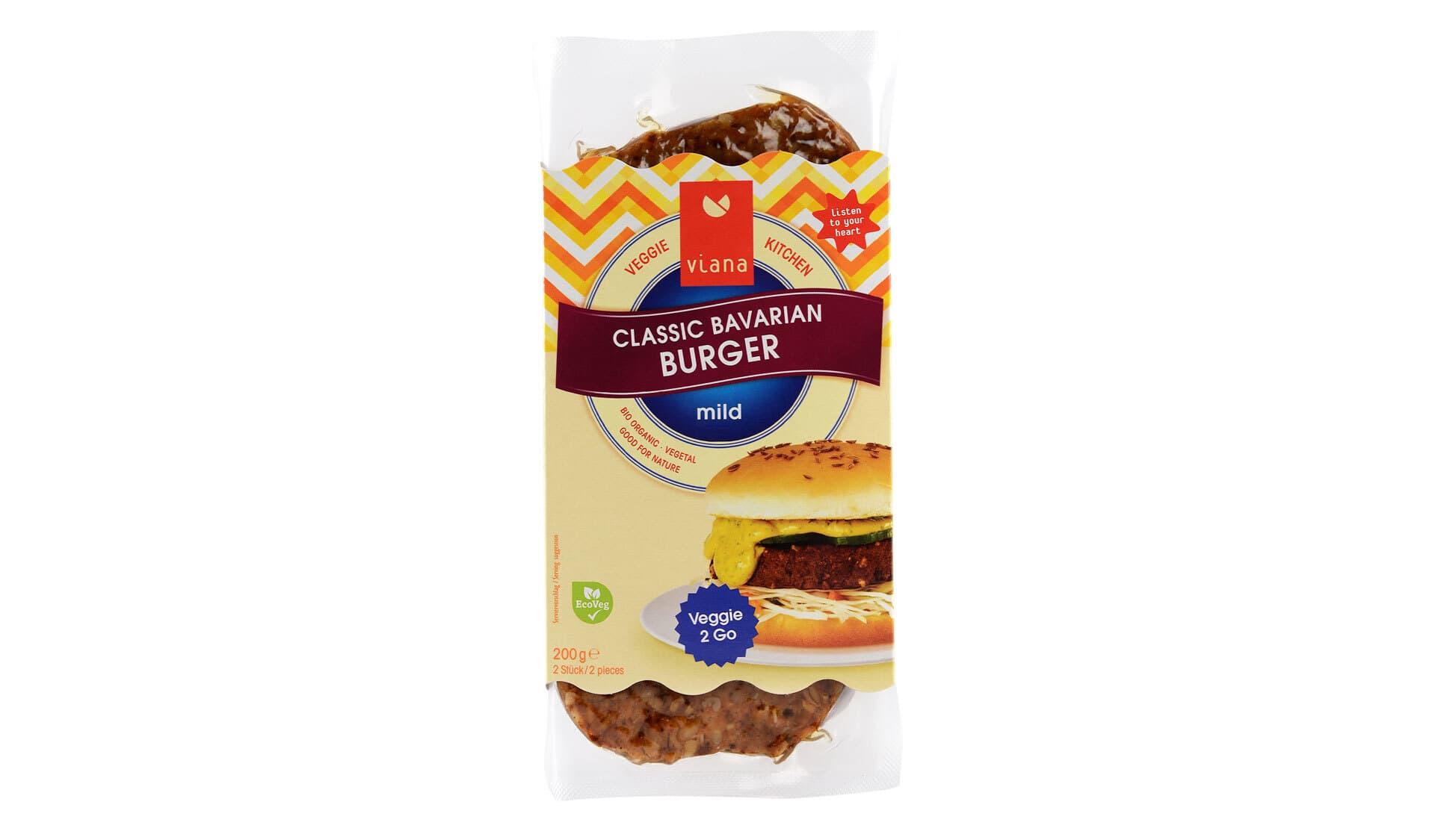 Viana Classic Bavarian Burger