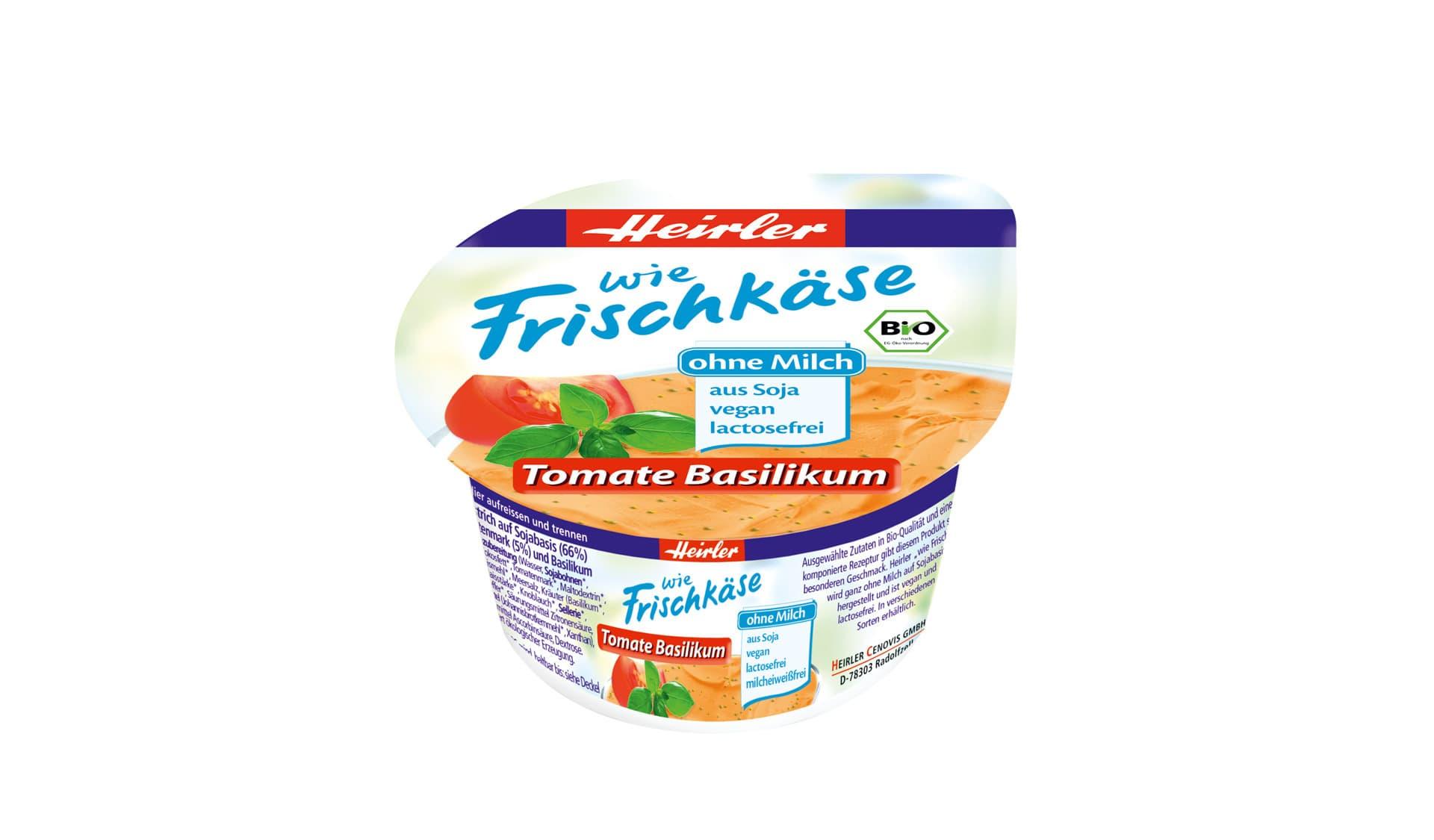 Heirler: Frischkäse Tomate Basilikum