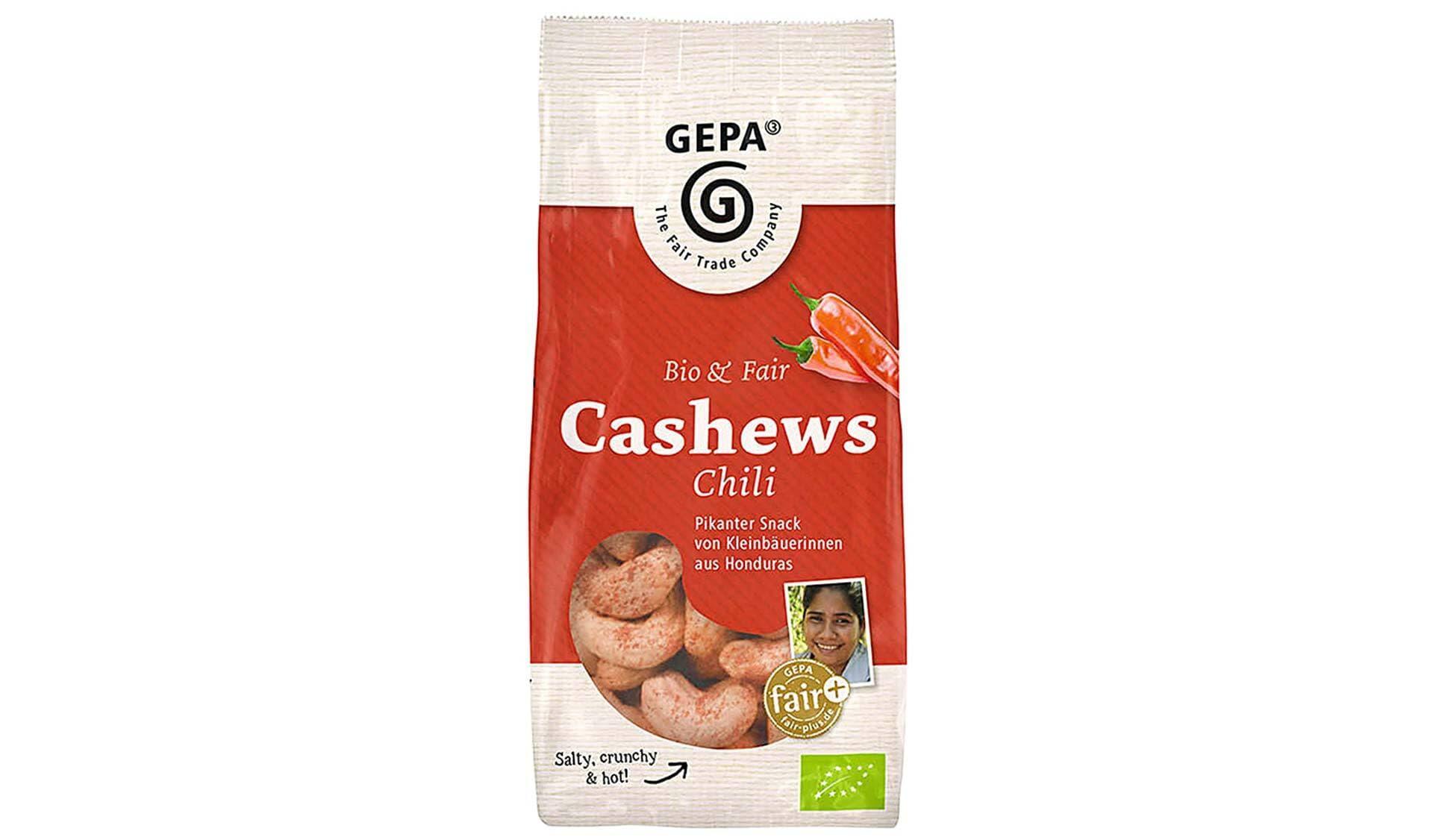 Gepa: Bio Cashews Sweet Chili