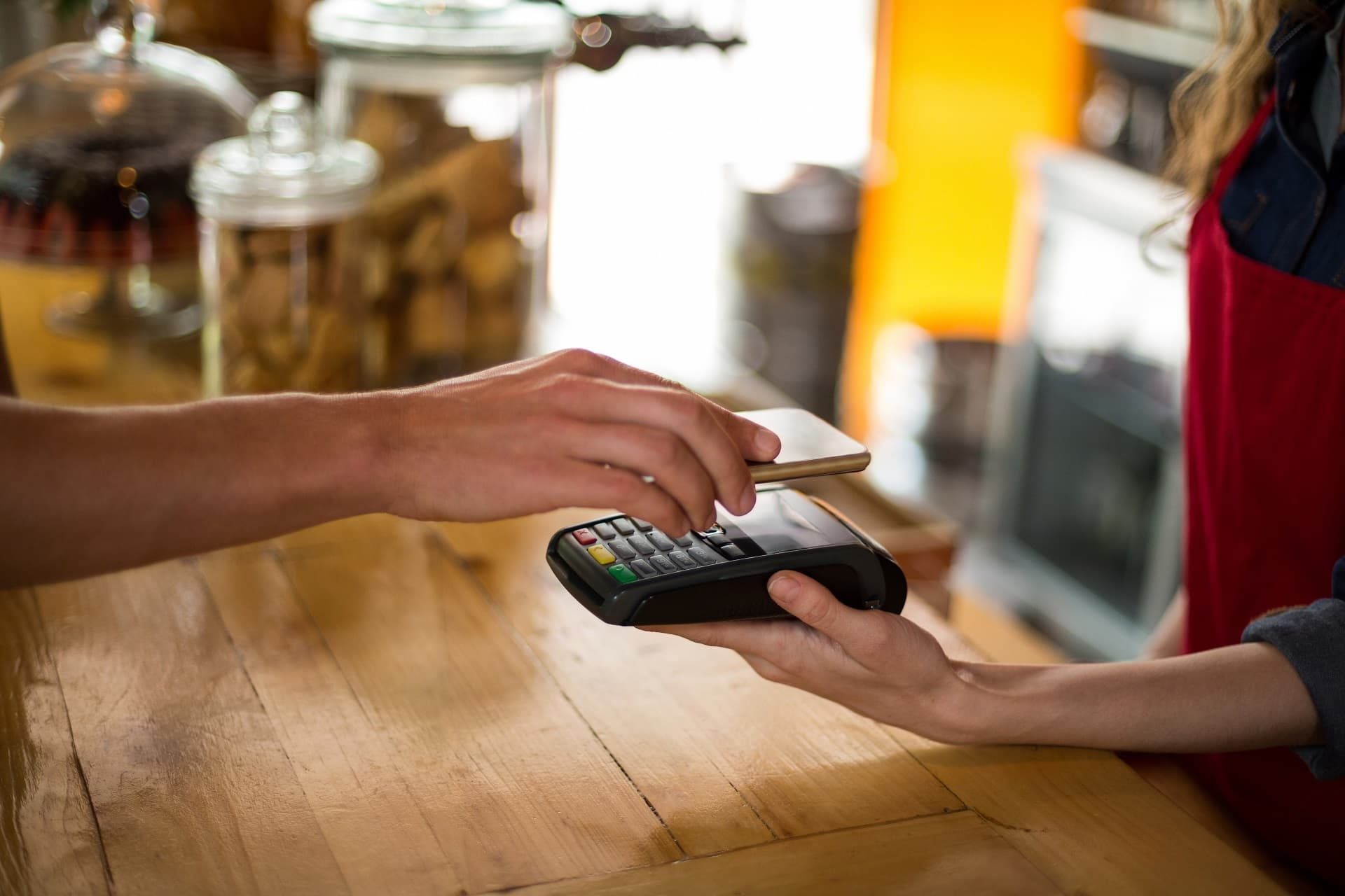 Bezahlen mit Smartphone