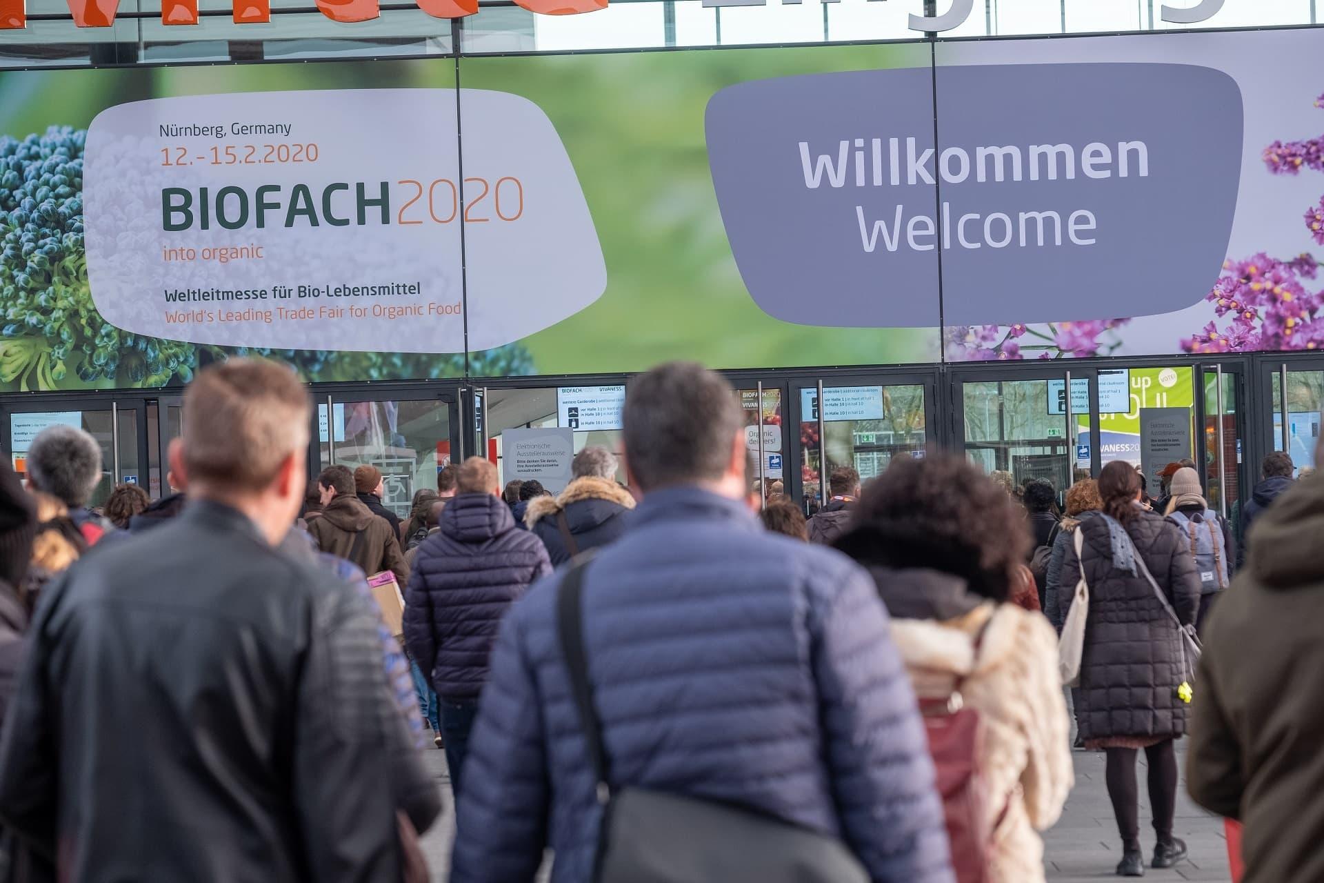 Biofach 2020 - Eingang