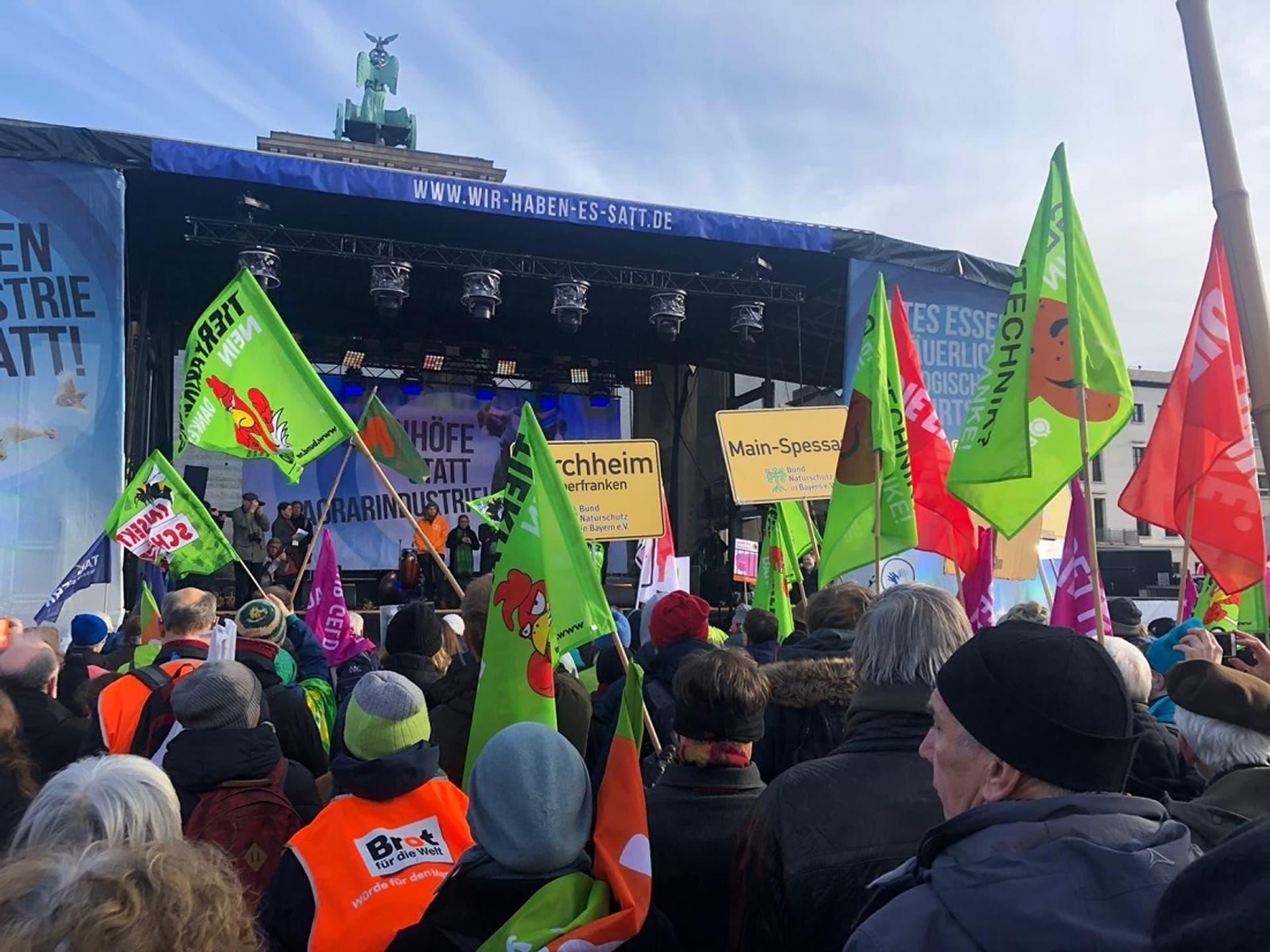 Wir-haben-es-satt-Demo in Berlin