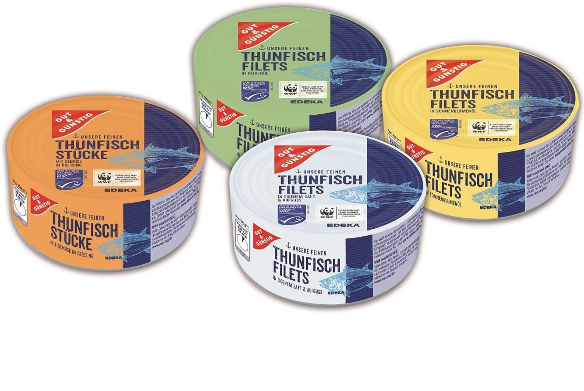 Edeka-Thunfisch der Makre Gut & Günstig