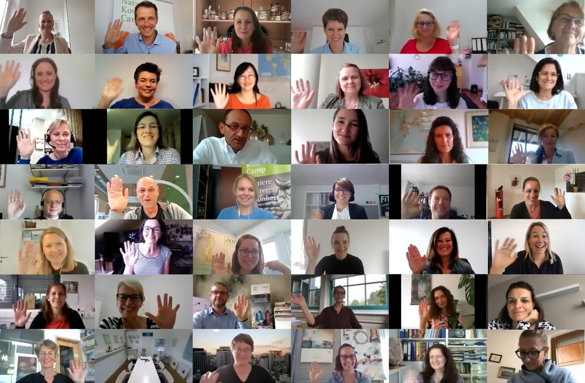 Gruppenfoto NaturkosmetikCamp 2020