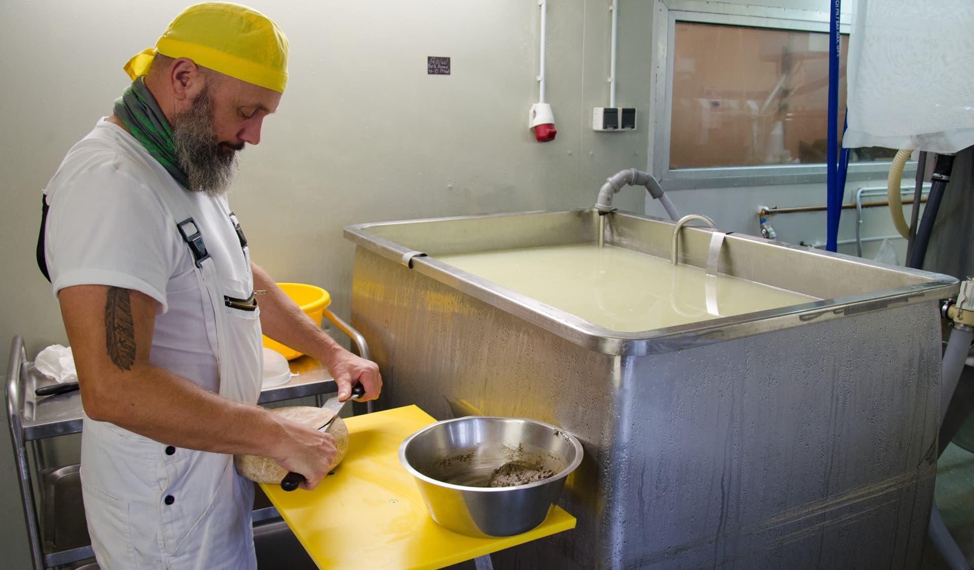 Käse-Herstellung