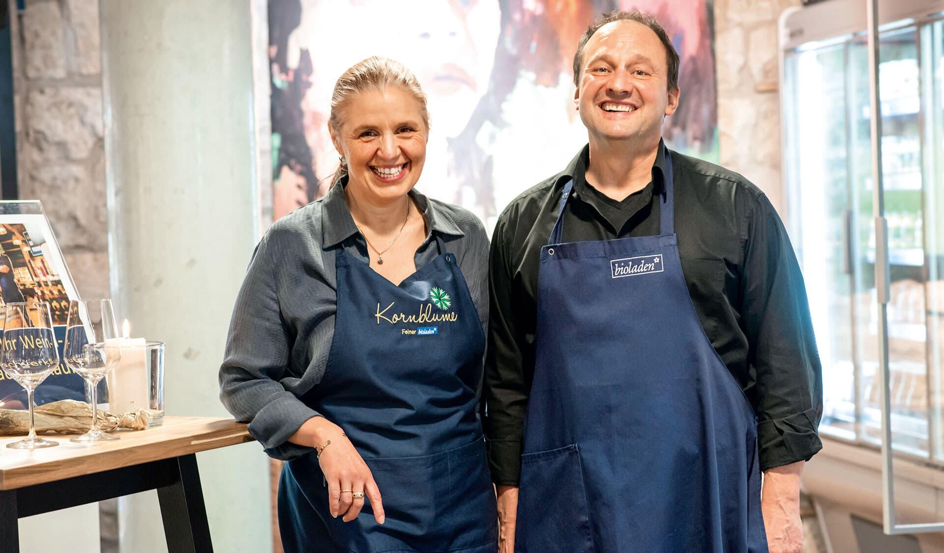 Nanni und Ralf Brinker