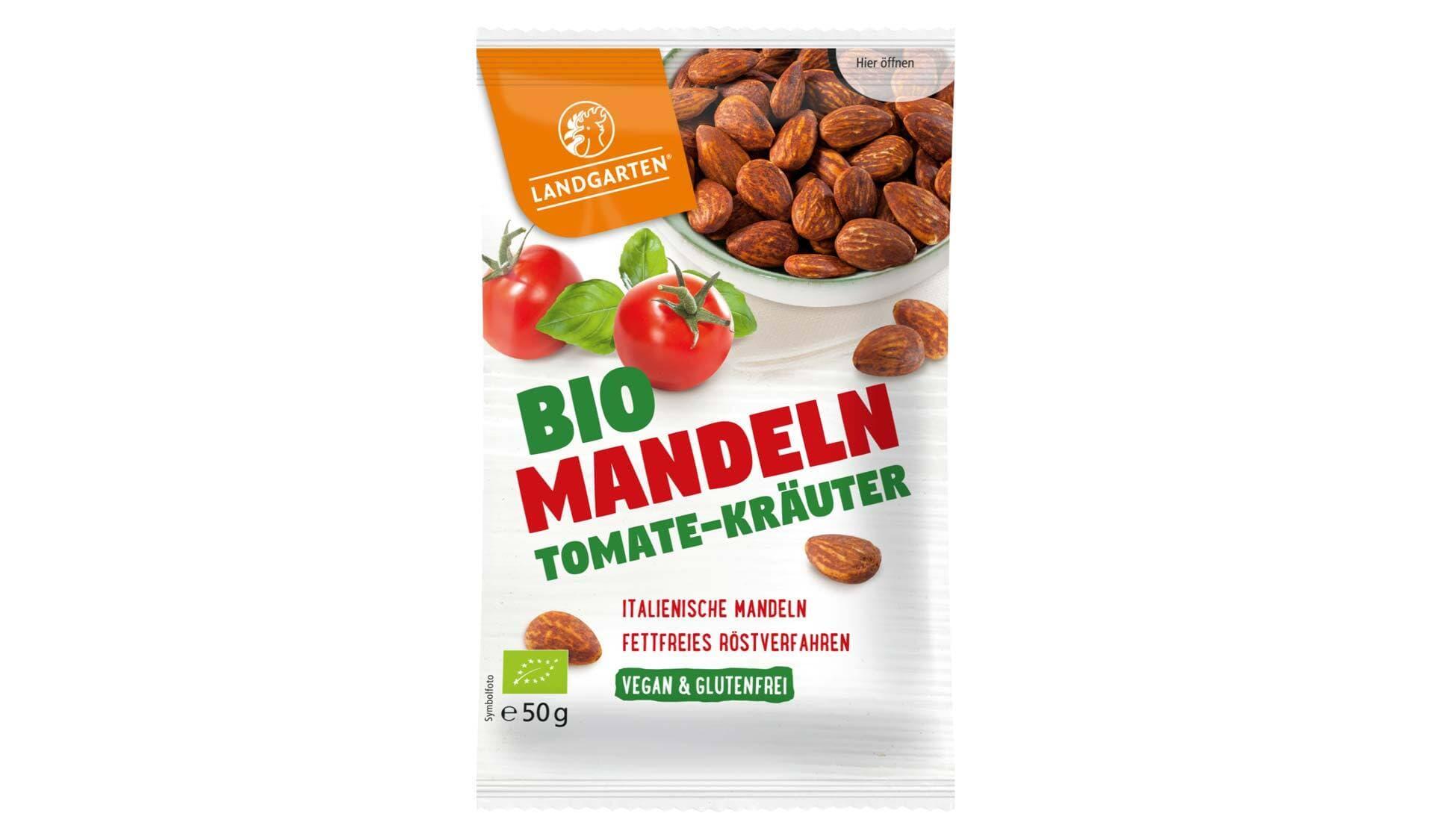 Landgarten: Bio Mandeln Tomate-Kräuter
