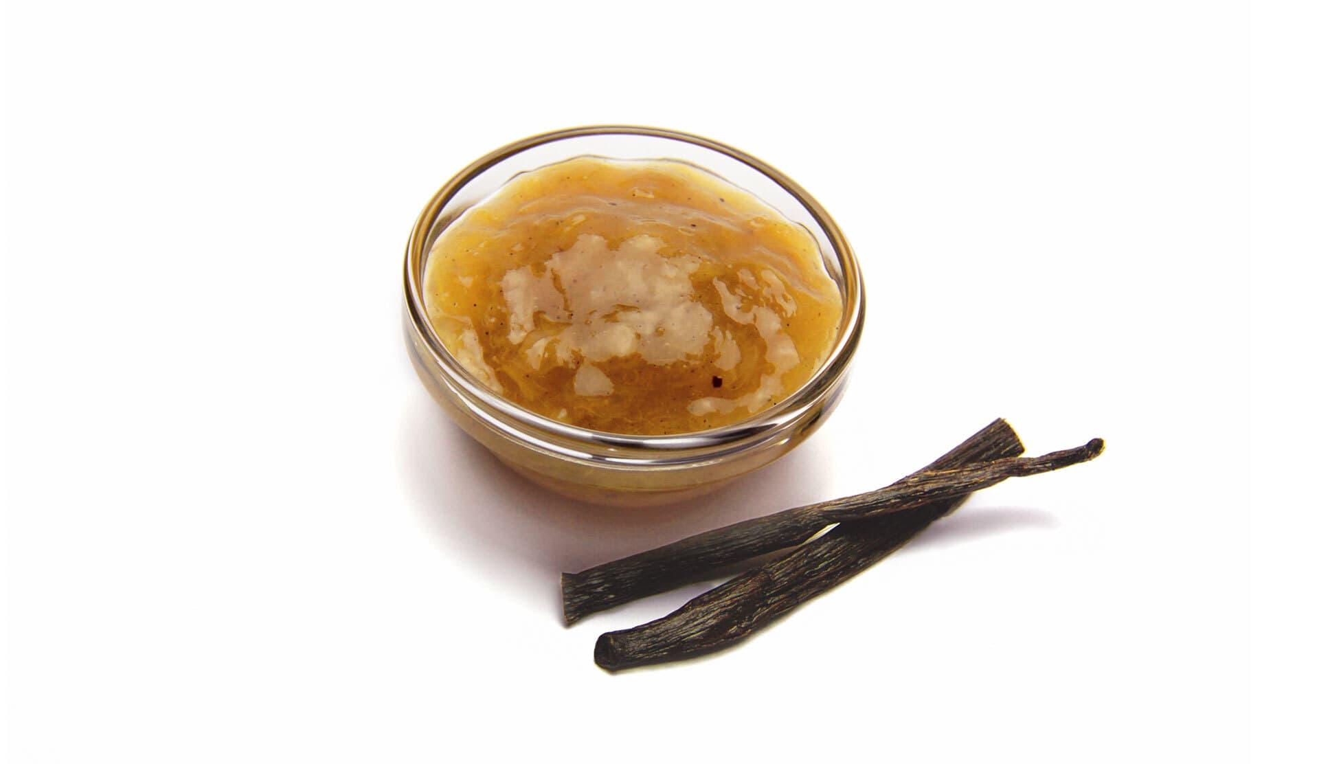 Fruchtaufstrich mit Vanille