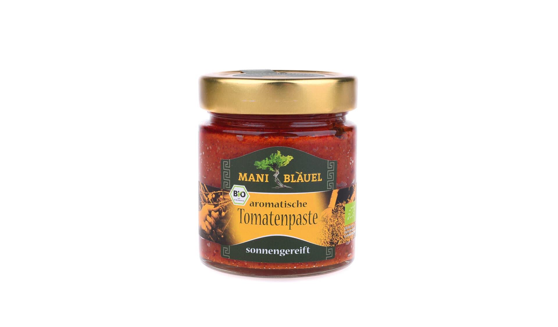 Mani Bläuel:  Aromatische Tomatenpaste