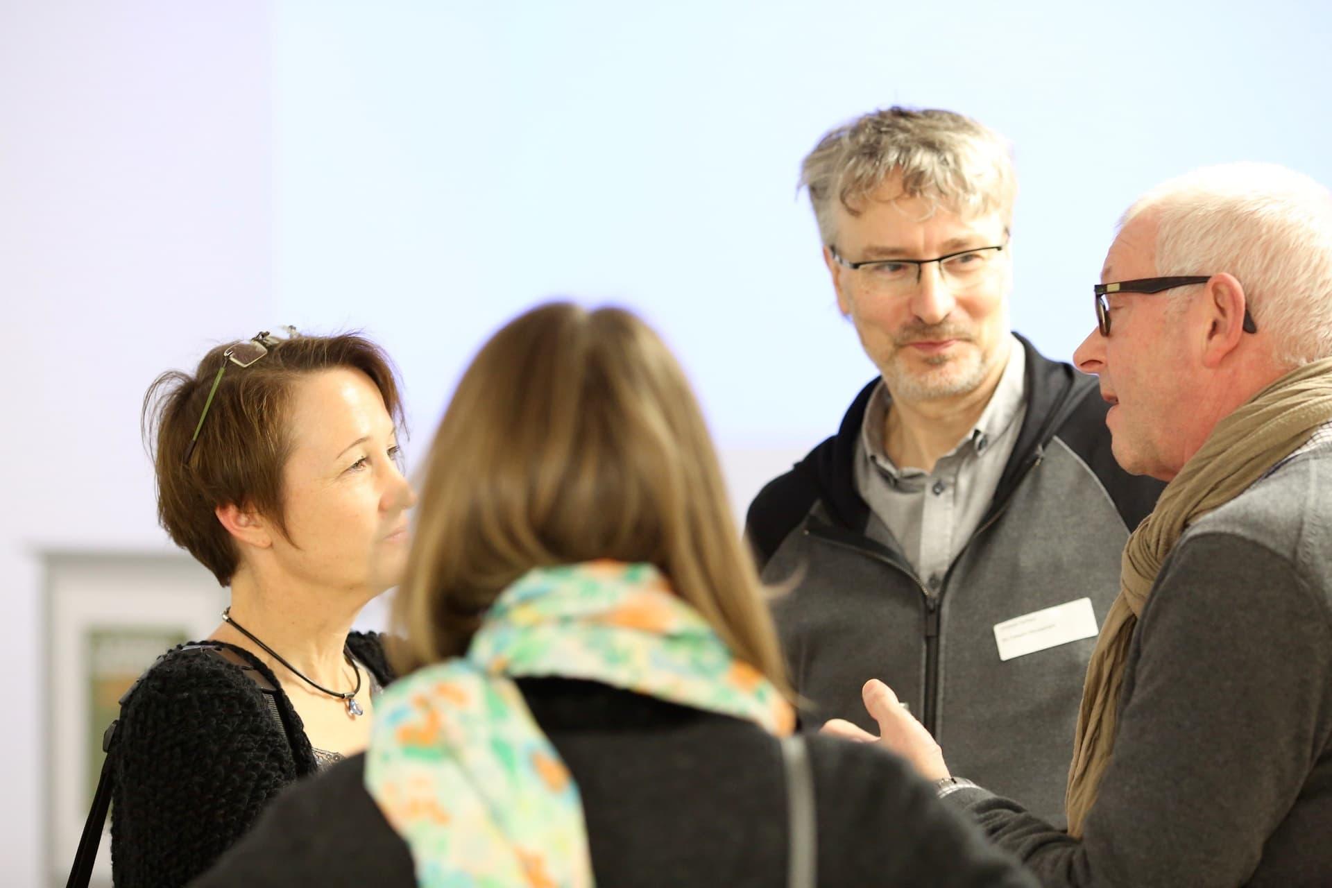 Teilnehmer beim 3. Marktgespräch