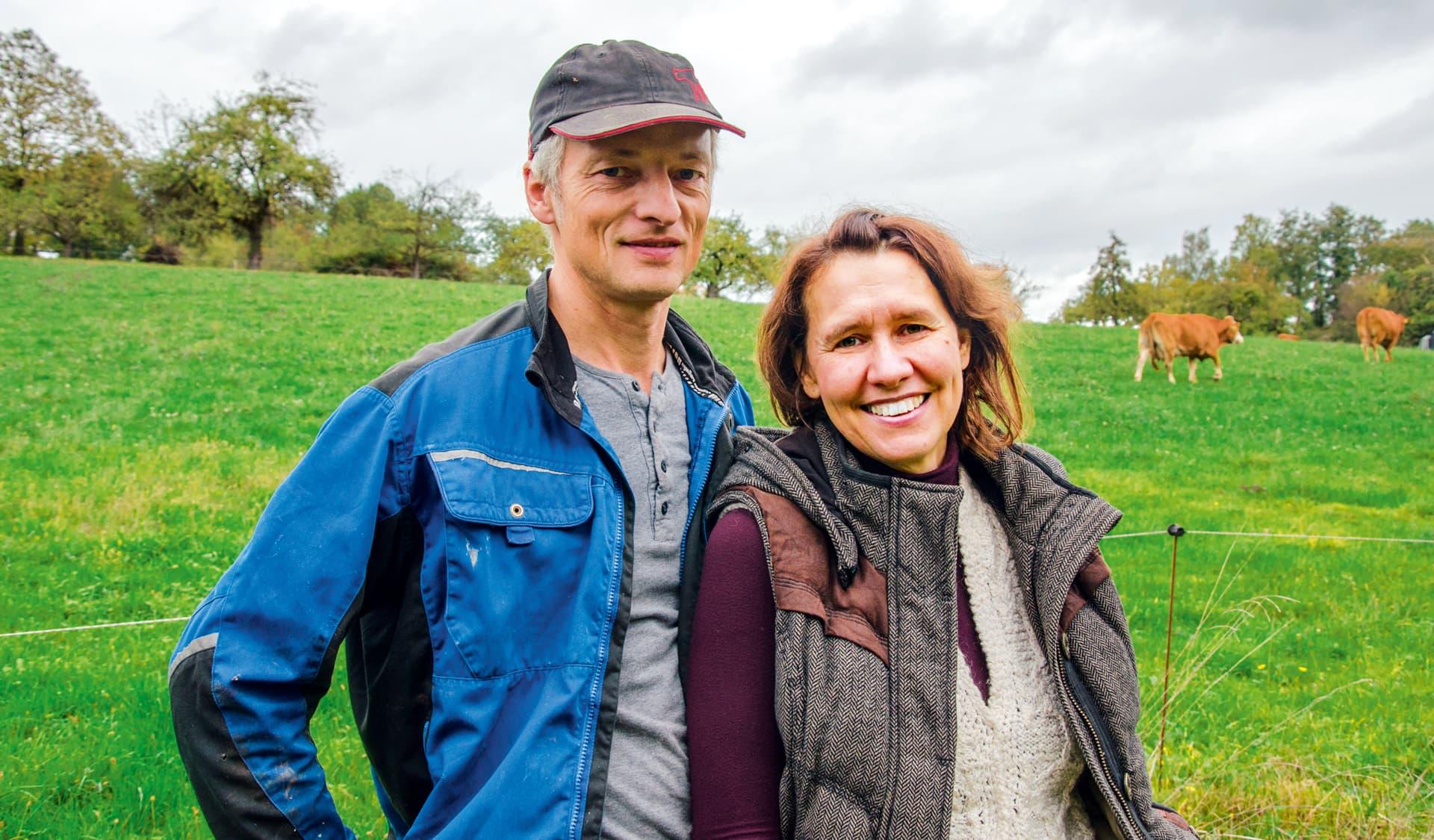 Die Inhaber Wolfgang und Monika Schudt