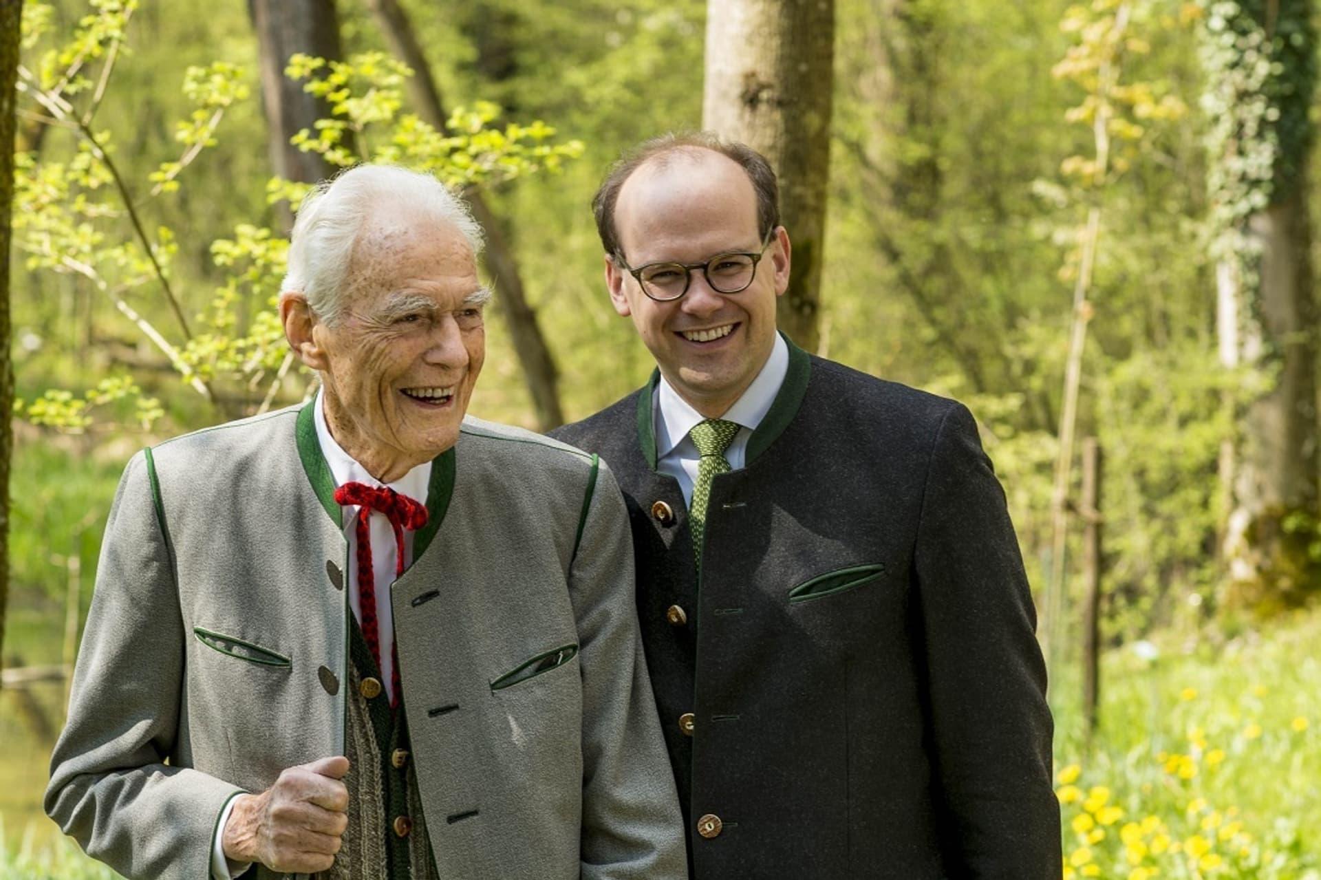 Salus-Urgestein Otto Greither und Mitgeschäftsführer Dr. Florian Block