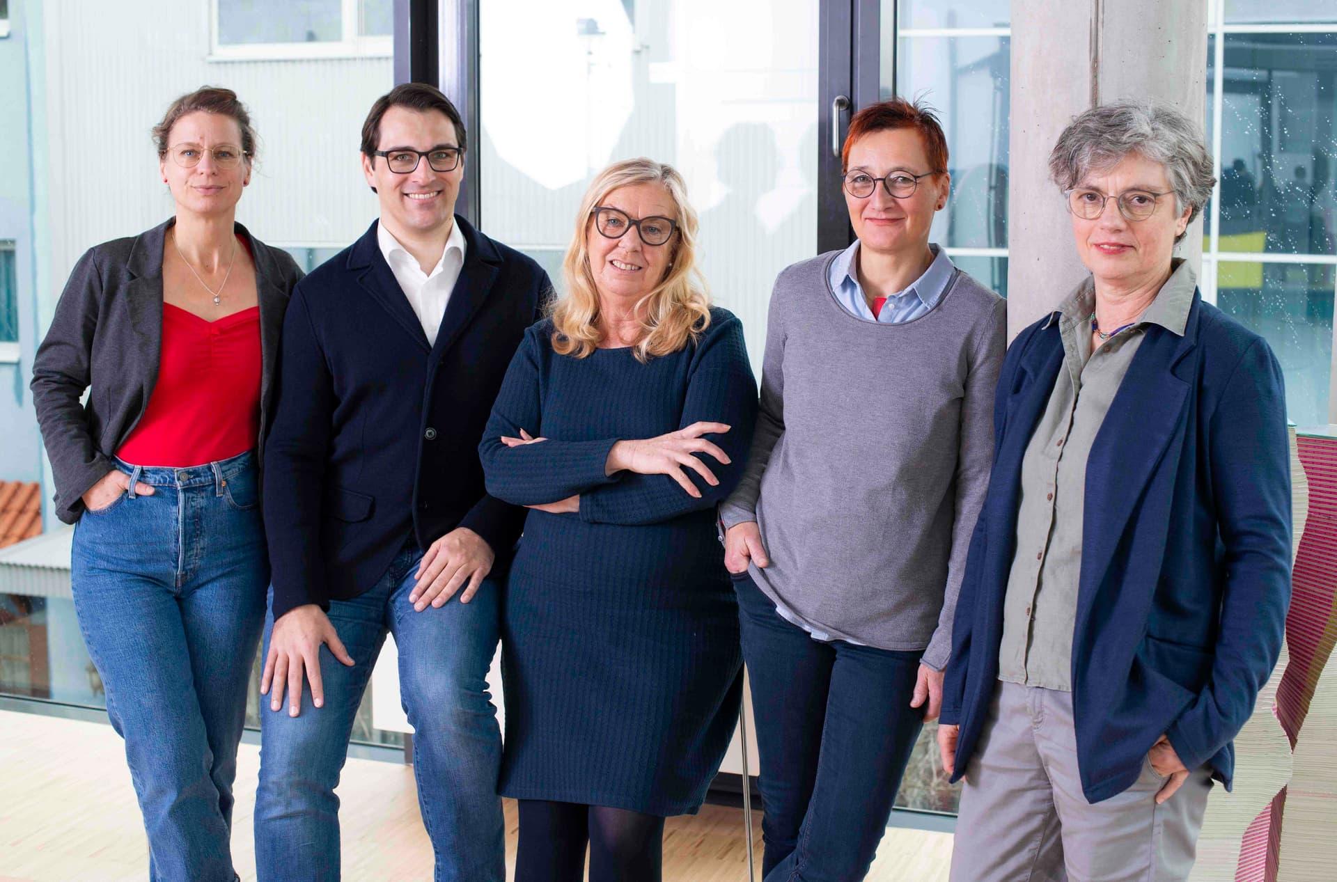 Stephanie Silber, Frederik Nurnus, oEllen Heil, Ulrike Fiedler, Sabine Kauffmann