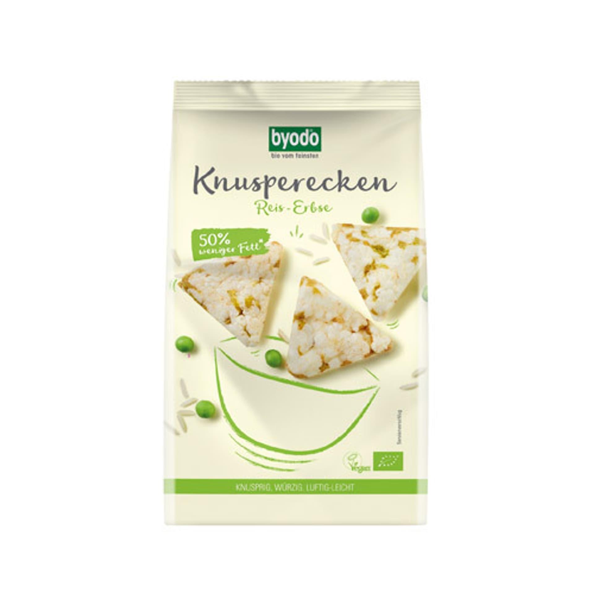 Knusperecken Reis-Erbse