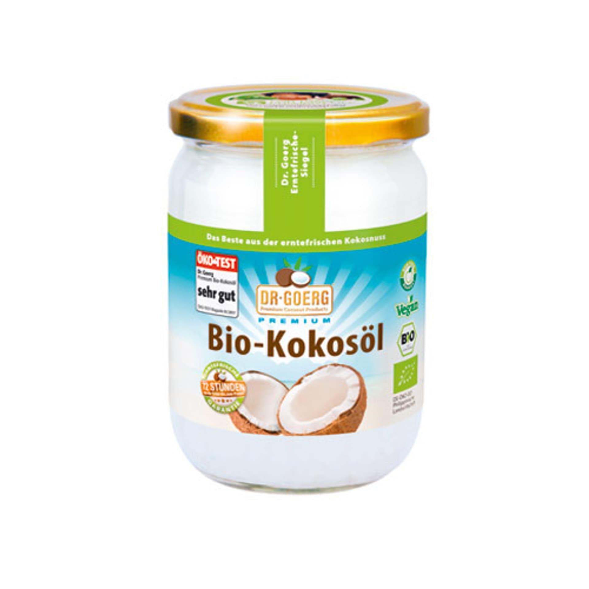 Premium Bio-Kokosöl
