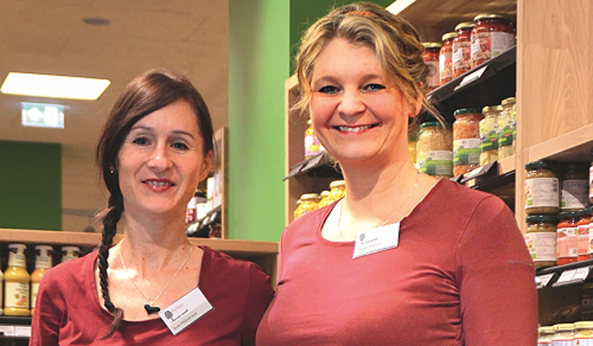 Svenja Gebauer und Susanne Hildebrand