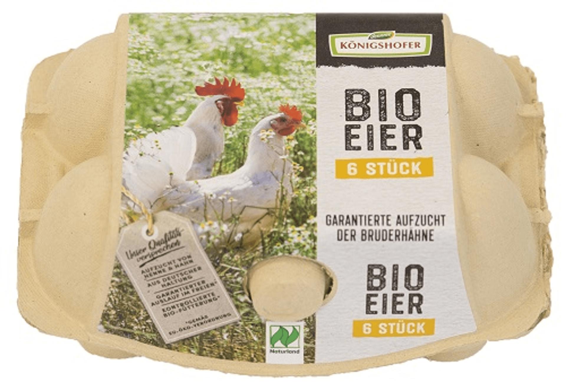 Schachtel Königshofer Bio-Eier